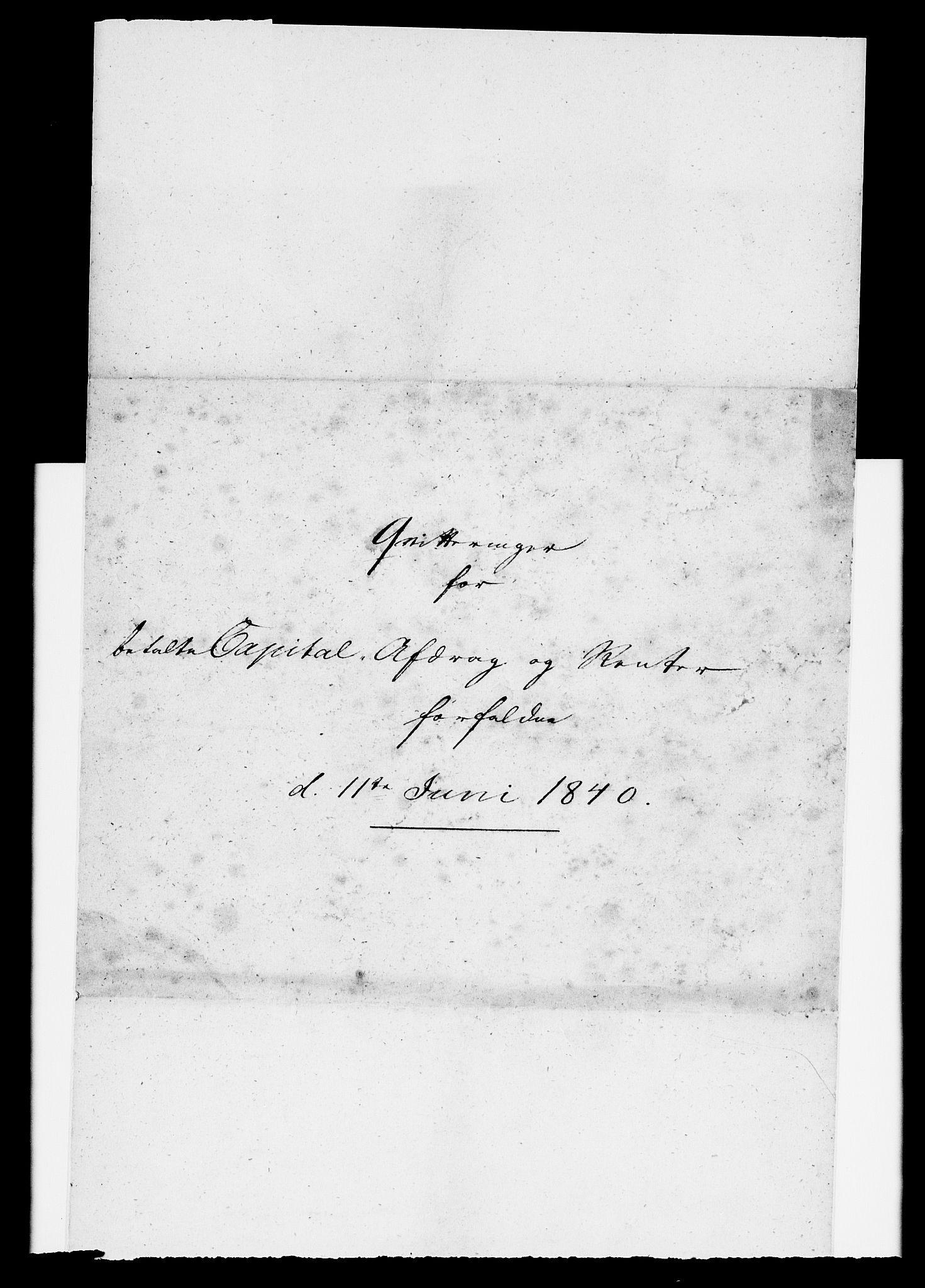 RA, Modums Blaafarveværk, G/Gd/Gdc/L0213, 1840-1847, s. 2