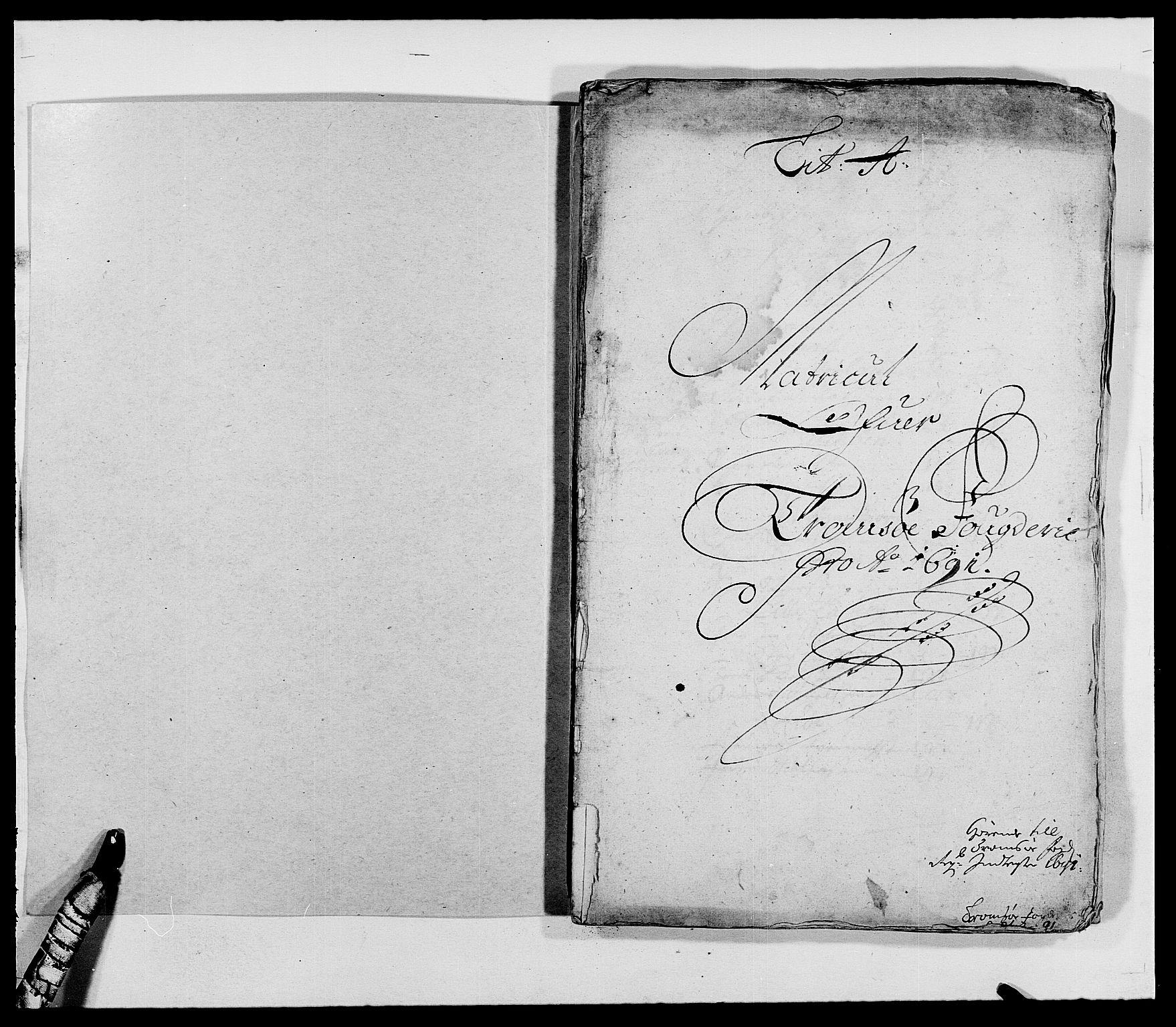RA, Rentekammeret inntil 1814, Reviderte regnskaper, Fogderegnskap, R68/L4751: Fogderegnskap Senja og Troms, 1690-1693, s. 76