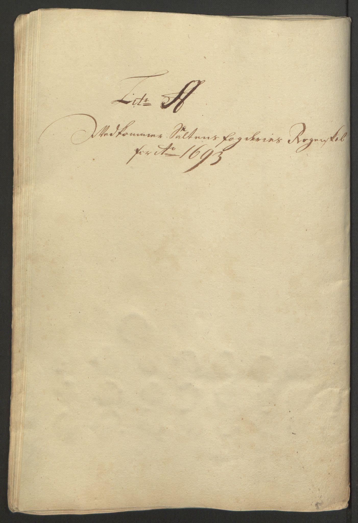 RA, Rentekammeret inntil 1814, Reviderte regnskaper, Fogderegnskap, R66/L4577: Fogderegnskap Salten, 1691-1693, s. 292