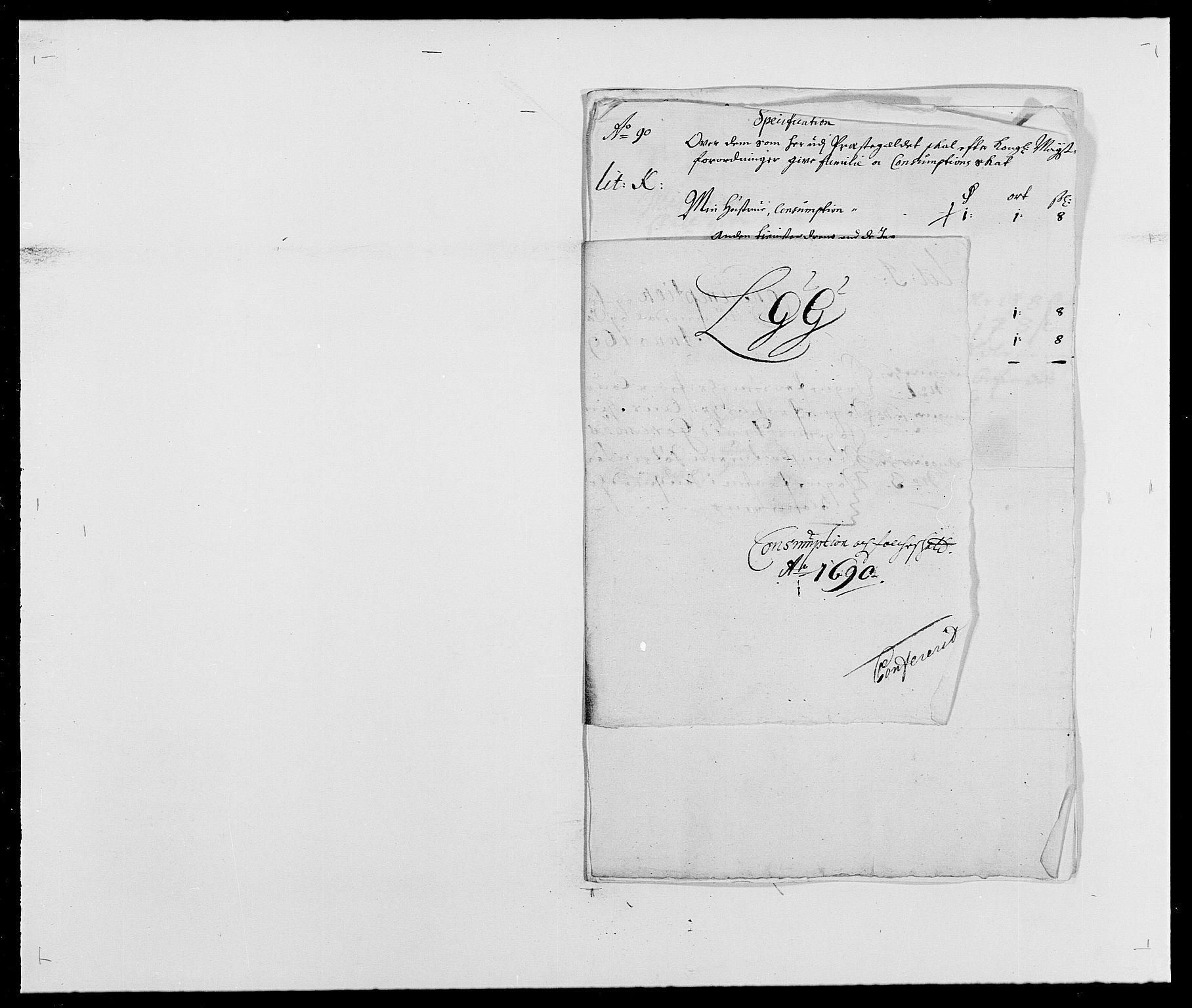 RA, Rentekammeret inntil 1814, Reviderte regnskaper, Fogderegnskap, R24/L1573: Fogderegnskap Numedal og Sandsvær, 1687-1691, s. 453