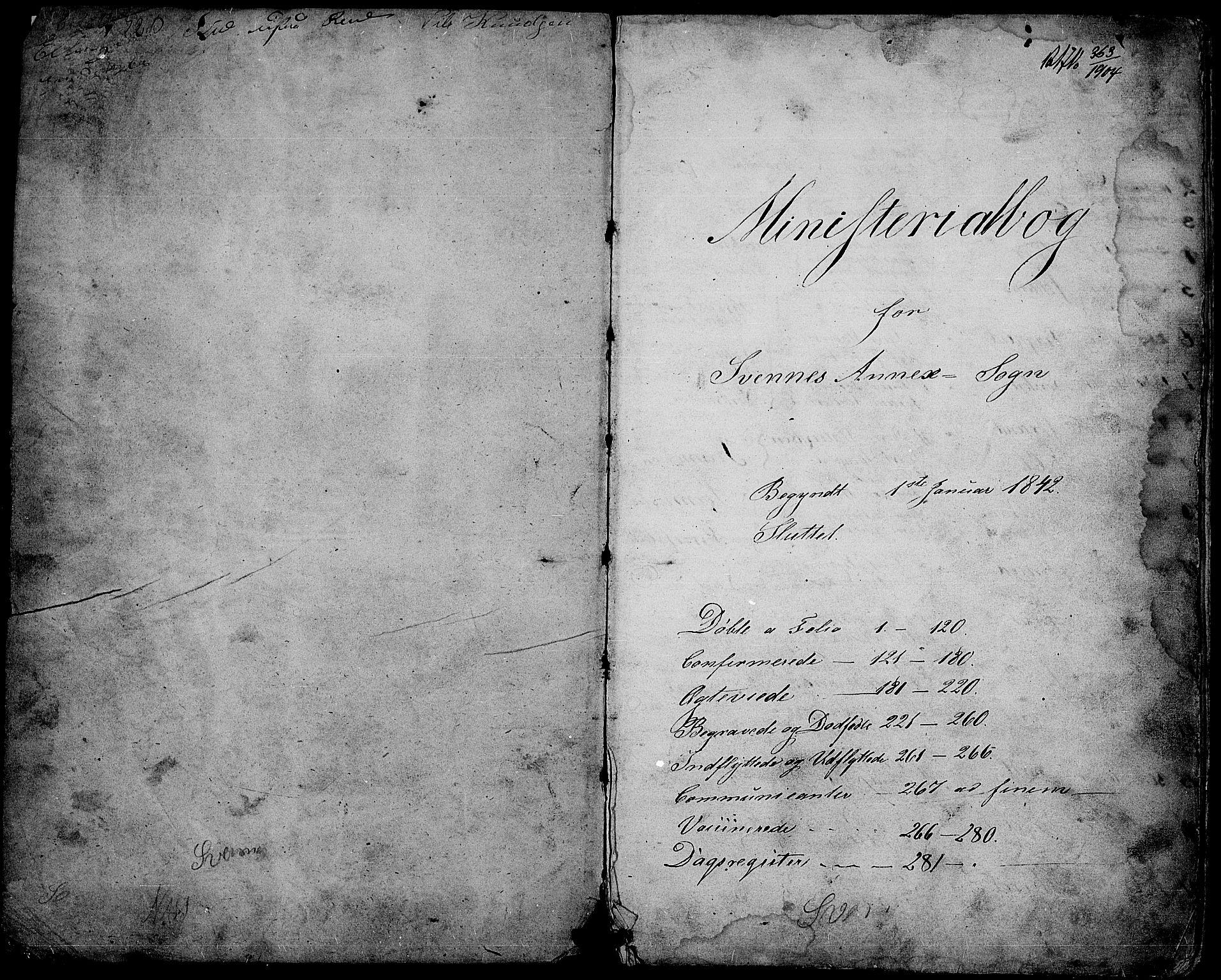 SAH, Nord-Aurdal prestekontor, Klokkerbok nr. 3, 1842-1882