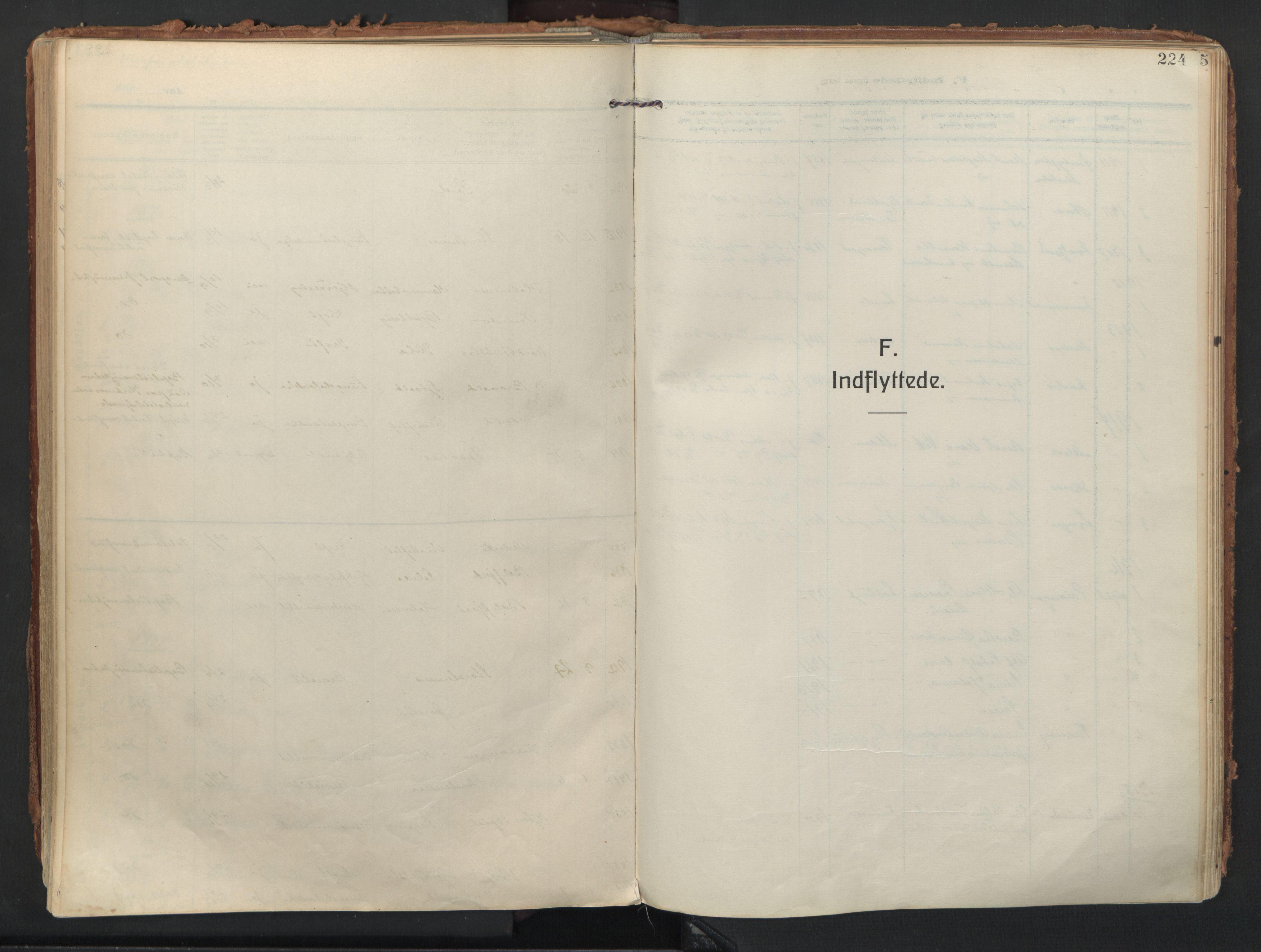 SATØ, Balsfjord sokneprestembete, Ministerialbok nr. 9, 1909-1921, s. 224