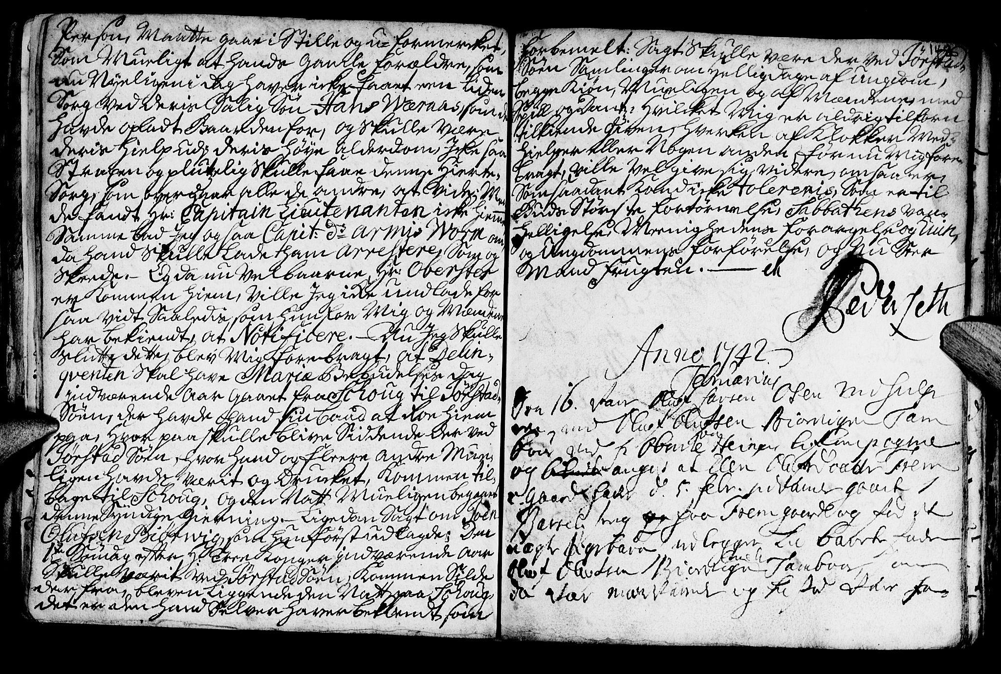 SAT, Ministerialprotokoller, klokkerbøker og fødselsregistre - Nord-Trøndelag, 722/L0215: Ministerialbok nr. 722A02, 1718-1755, s. 148