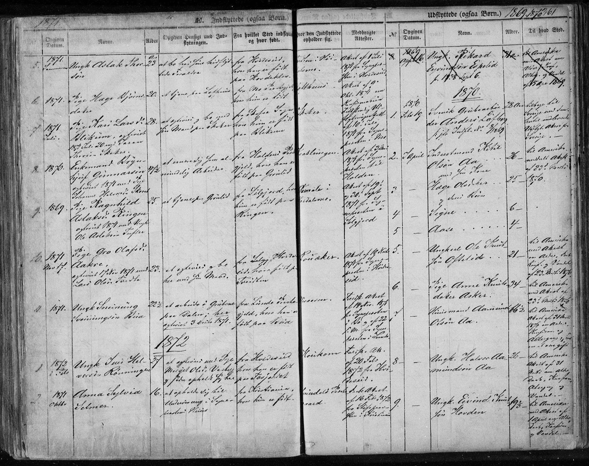 SAKO, Lårdal kirkebøker, F/Fa/L0006: Ministerialbok nr. I 6, 1861-1886, s. 361