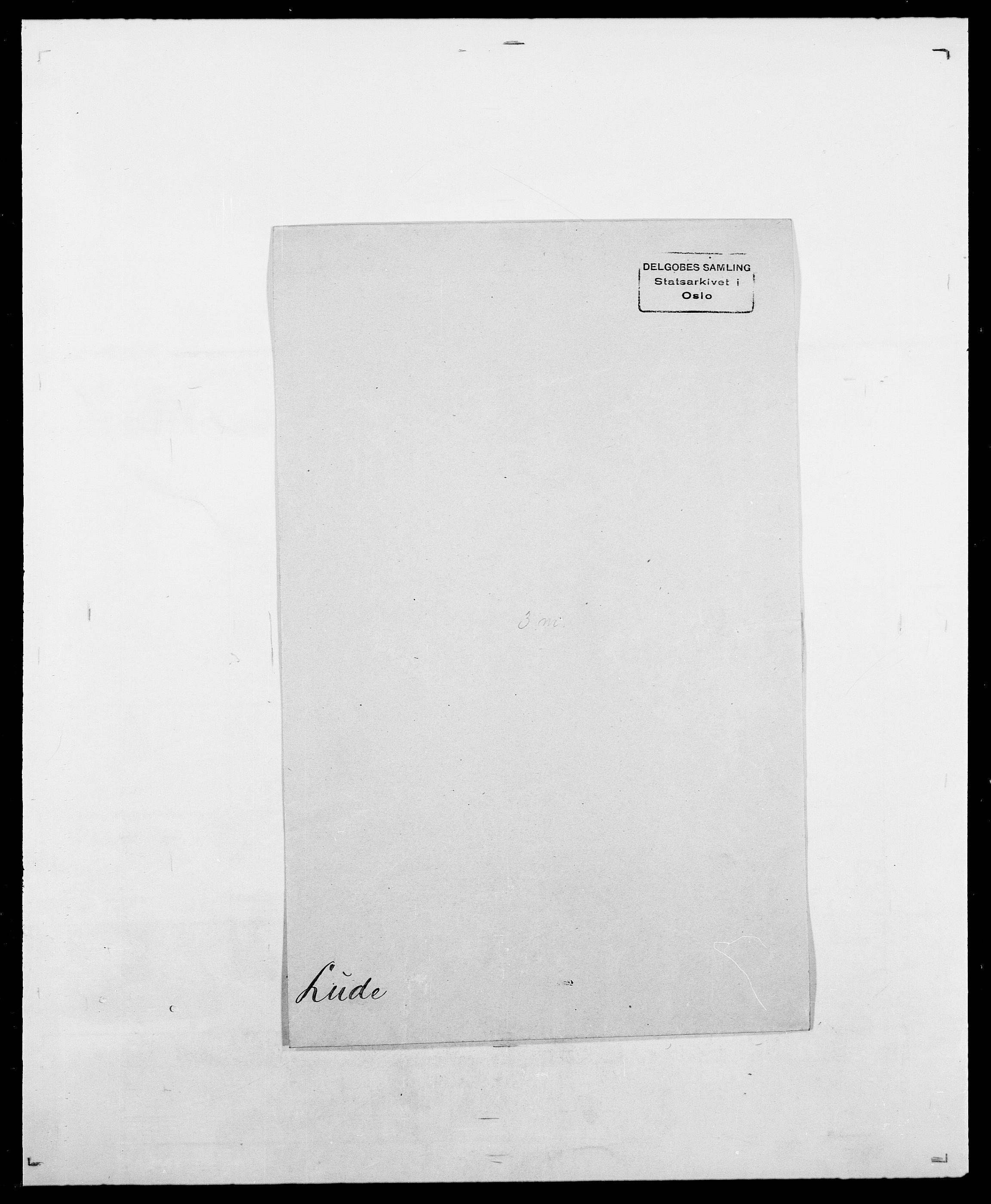 SAO, Delgobe, Charles Antoine - samling, D/Da/L0024: Lobech - Lærum, s. 368