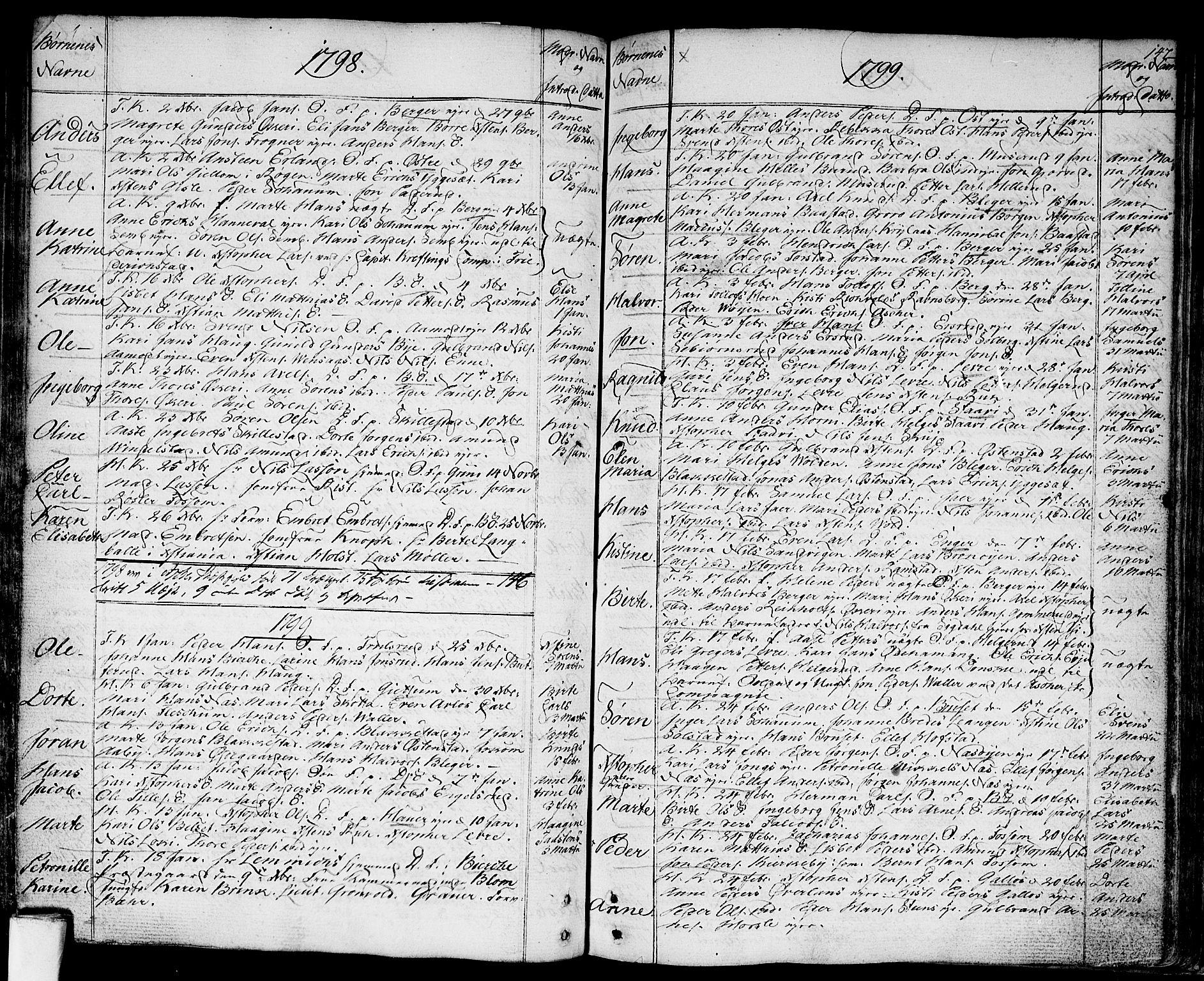 SAO, Asker prestekontor Kirkebøker, F/Fa/L0003: Ministerialbok nr. I 3, 1767-1807, s. 147