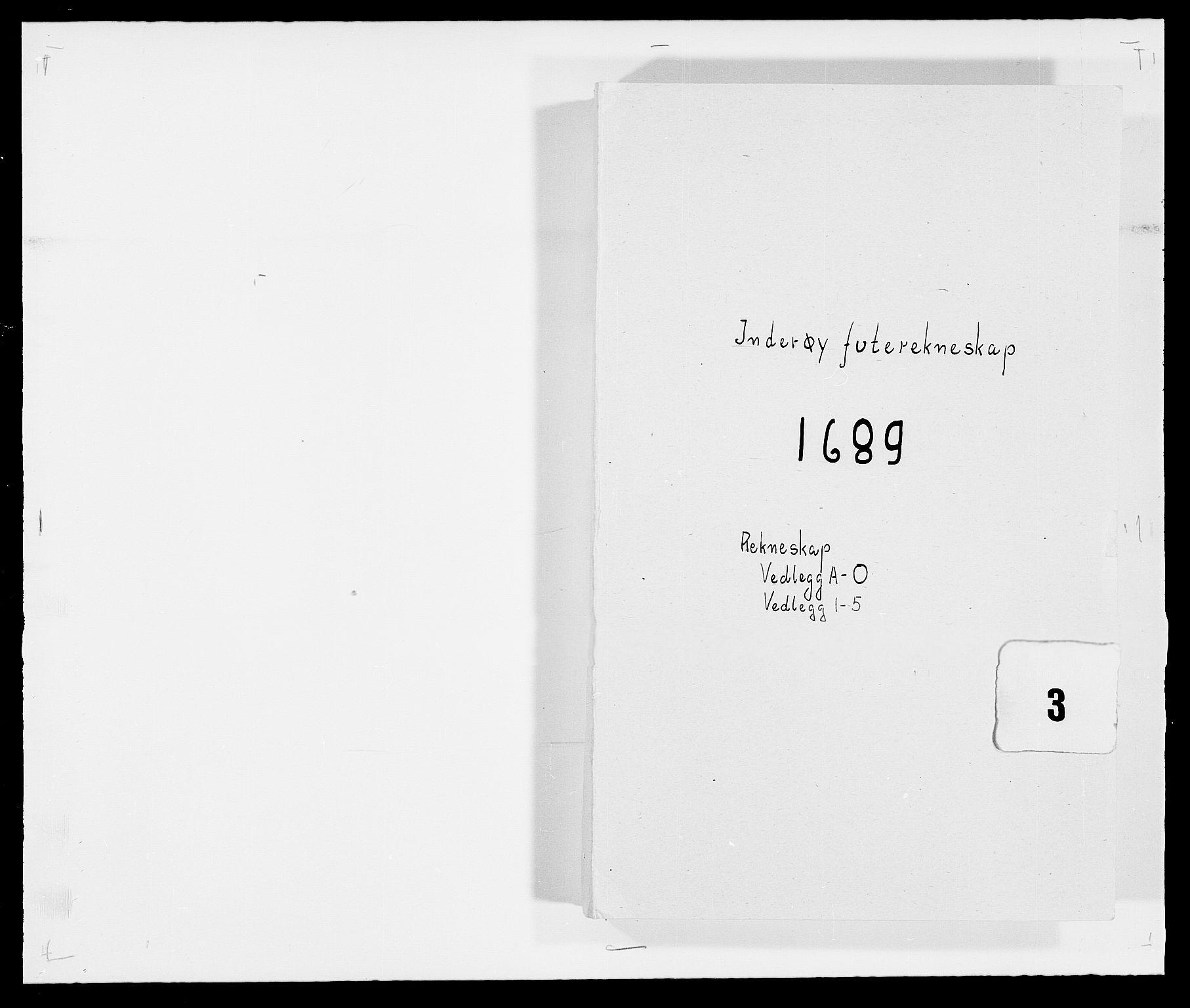 RA, Rentekammeret inntil 1814, Reviderte regnskaper, Fogderegnskap, R63/L4306: Fogderegnskap Inderøy, 1687-1689, s. 385