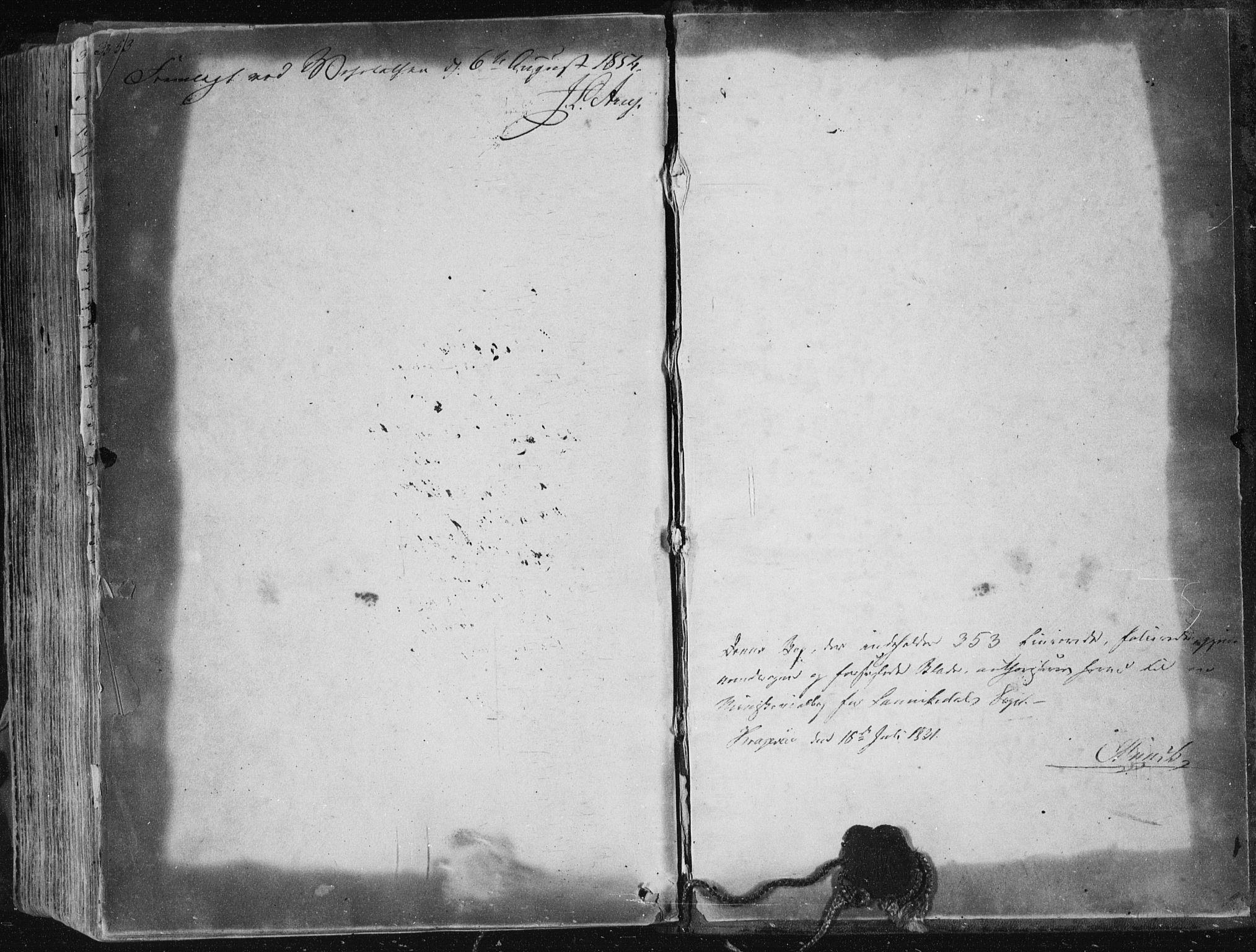 SAKO, Sannidal kirkebøker, F/Fa/L0007: Ministerialbok nr. 7, 1831-1854, s. 353