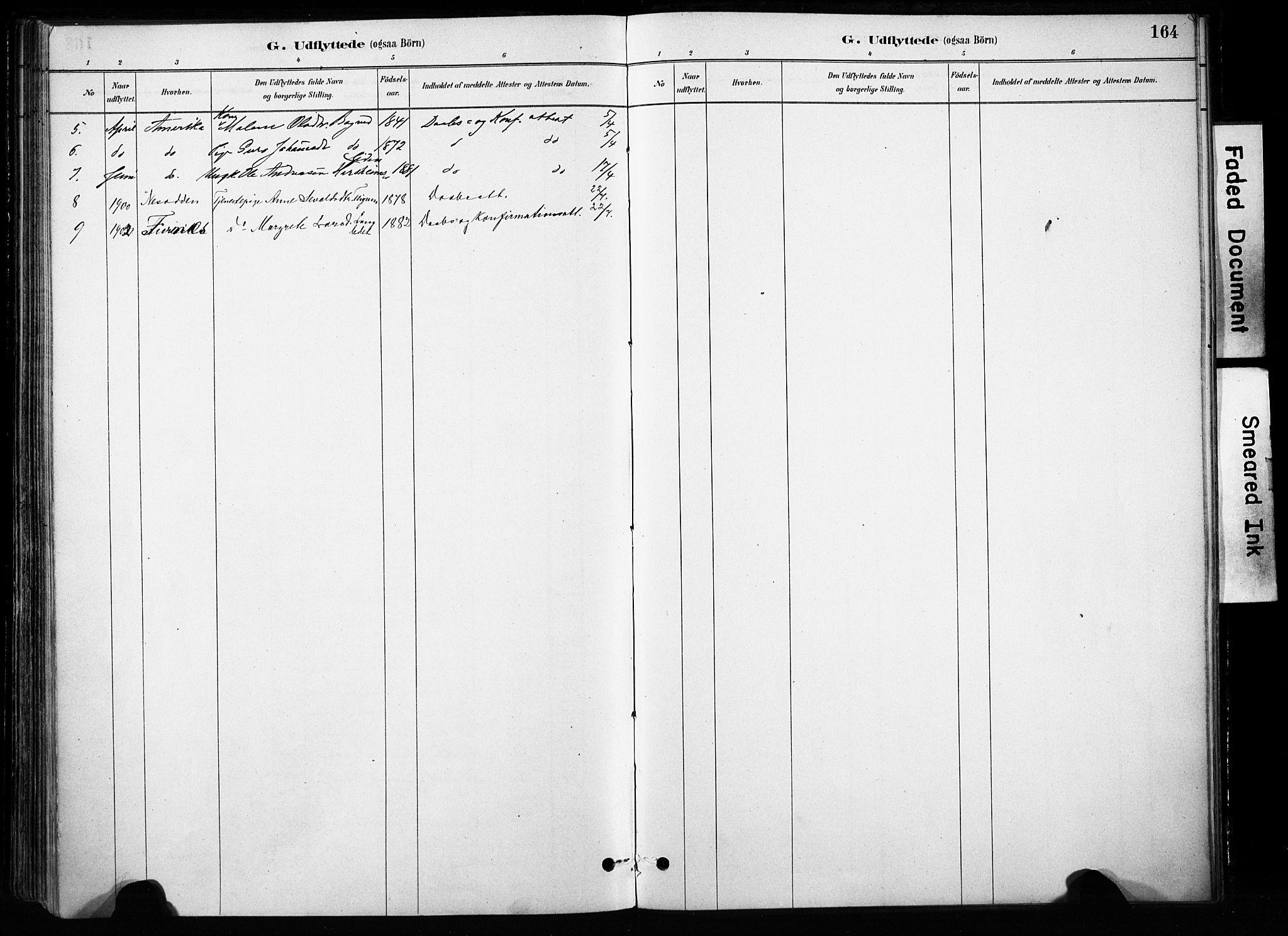 SAH, Skjåk prestekontor, Ministerialbok nr. 4, 1880-1904, s. 164