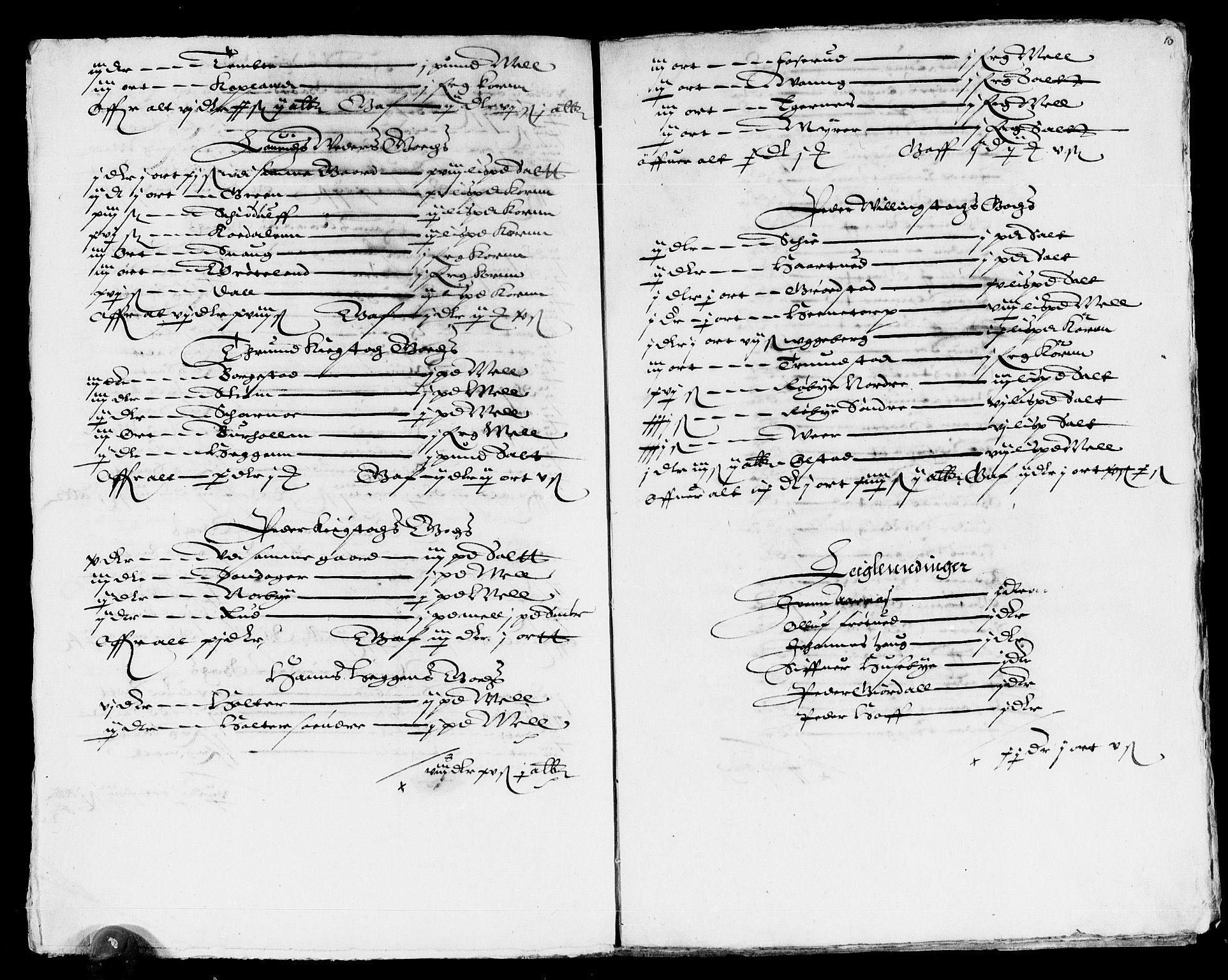 RA, Rentekammeret inntil 1814, Reviderte regnskaper, Lensregnskaper, R/Rb/Rba/L0037: Akershus len, 1611-1616