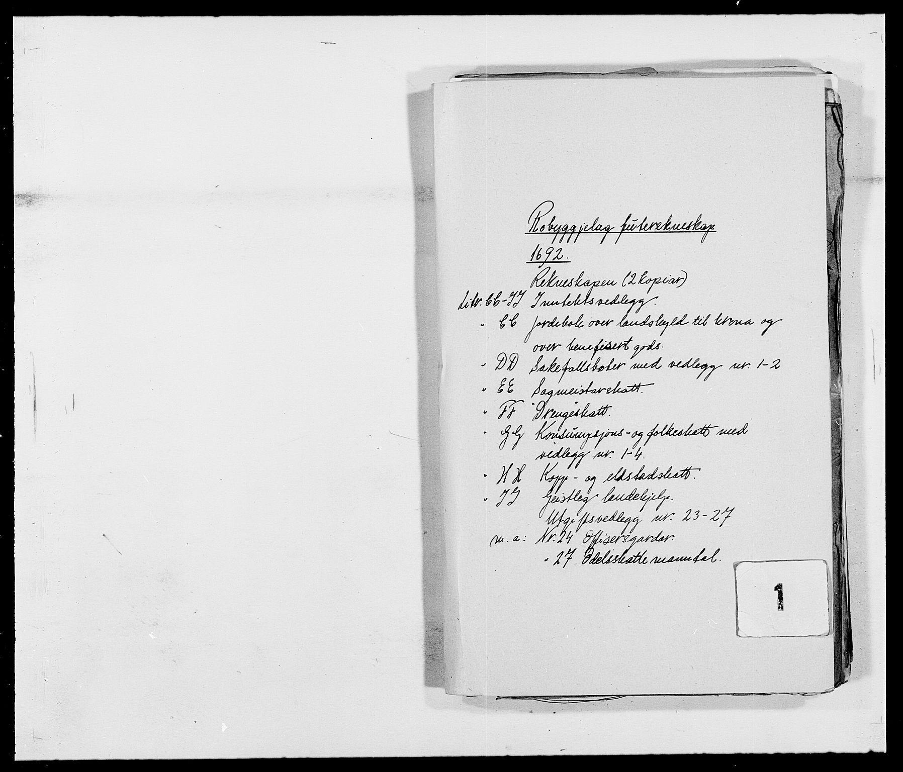RA, Rentekammeret inntil 1814, Reviderte regnskaper, Fogderegnskap, R40/L2443: Fogderegnskap Råbyggelag, 1691-1692, s. 113