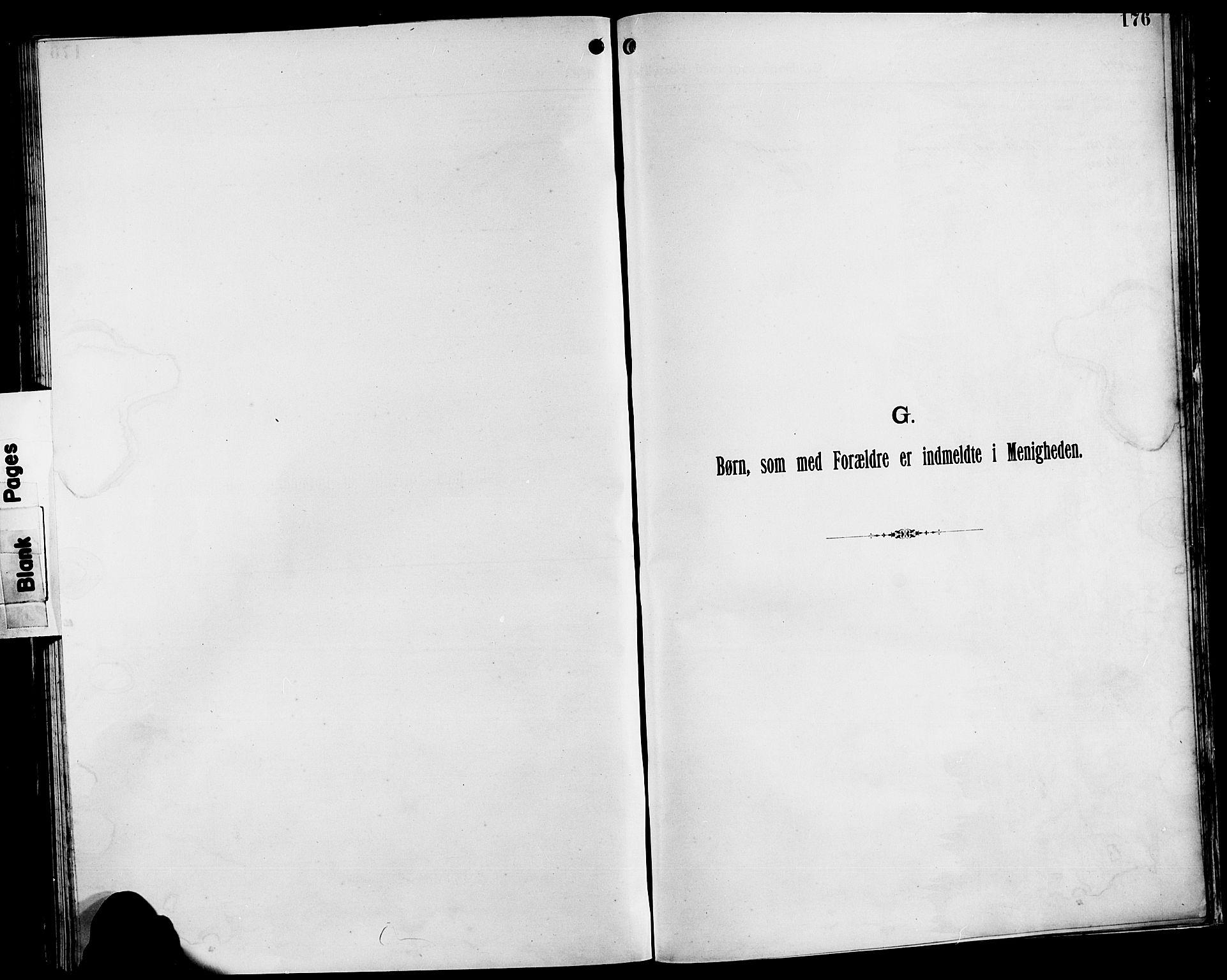 SAST, Pa 0160 - Vennenes Samfunn, Stavanger, F/Fb/L0001: Dissenterprotokoll nr. 1, 1860-1897, s. 176