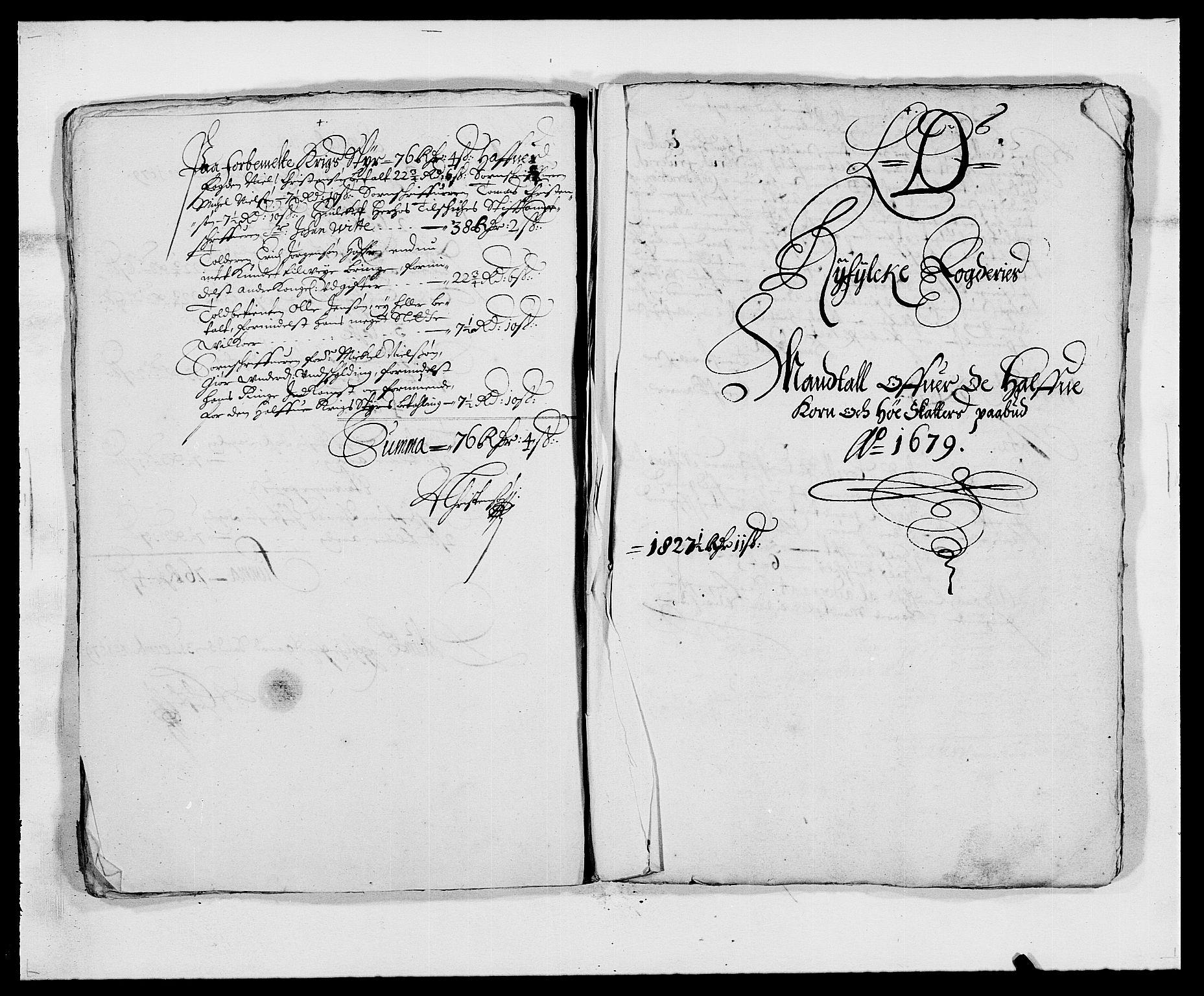 RA, Rentekammeret inntil 1814, Reviderte regnskaper, Fogderegnskap, R47/L2849: Fogderegnskap Ryfylke, 1679, s. 86