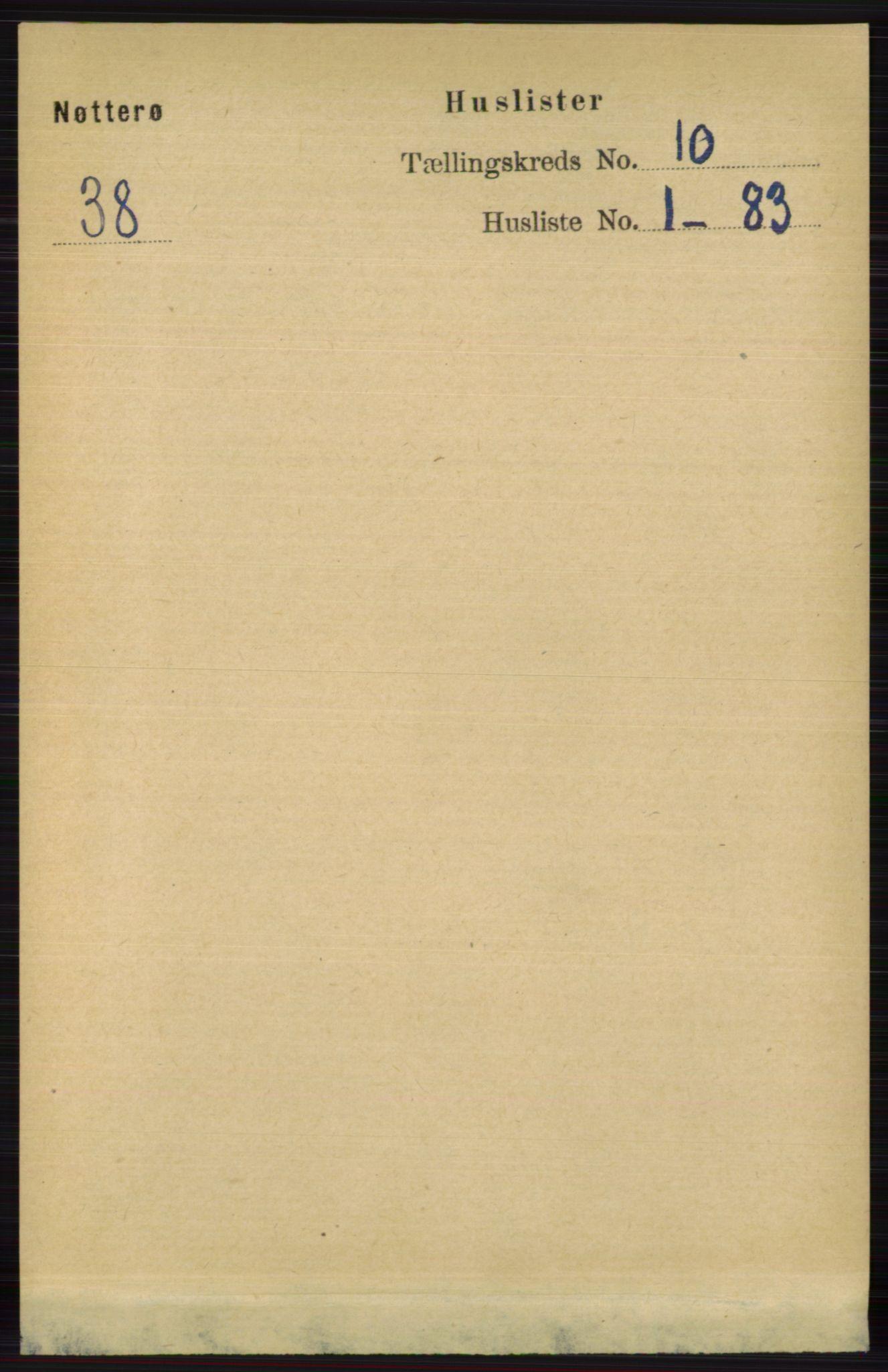RA, Folketelling 1891 for 0722 Nøtterøy herred, 1891, s. 5109