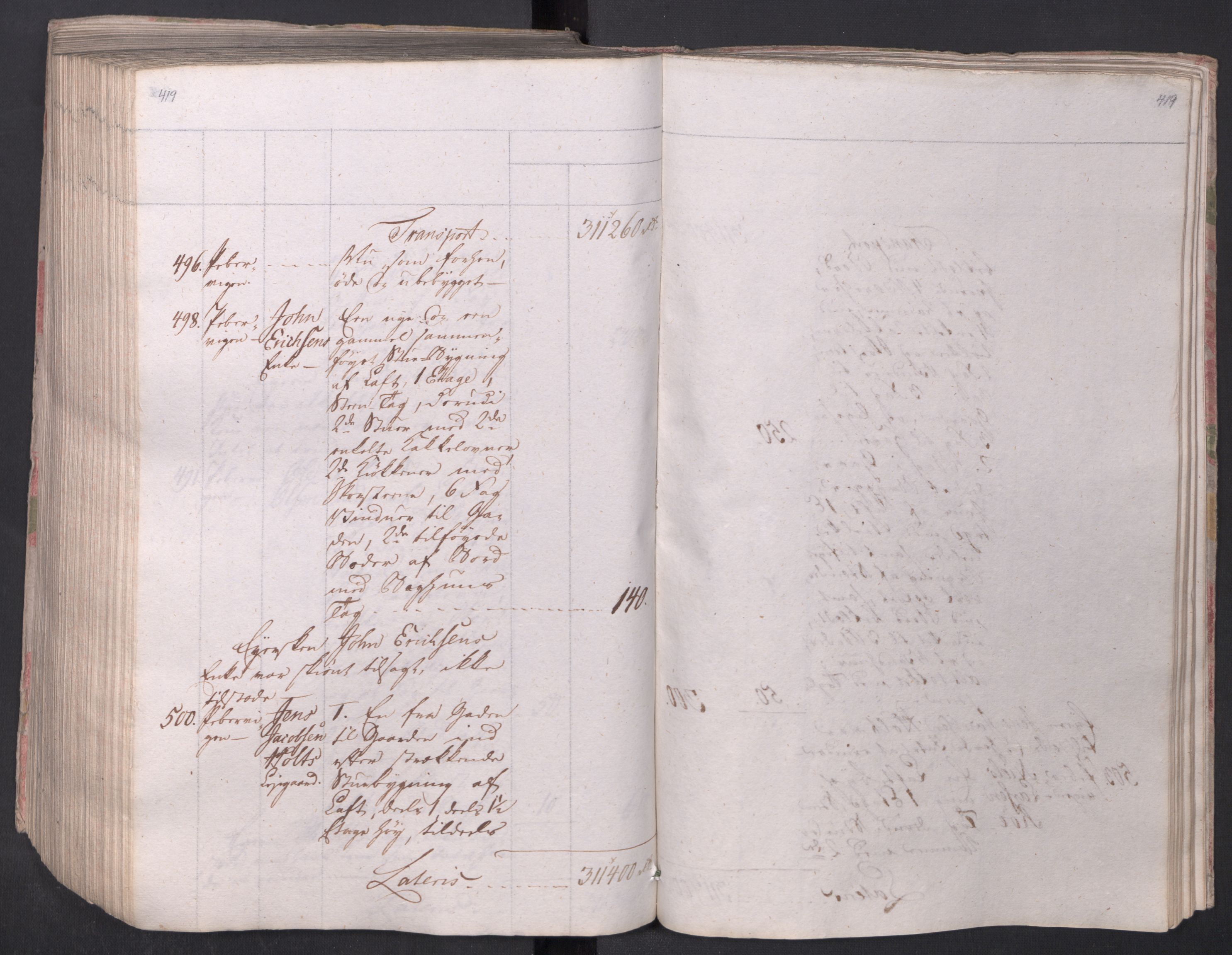 SAO, Kristiania stiftamt, I/Ia/L0015: Branntakster, 1797, s. 419