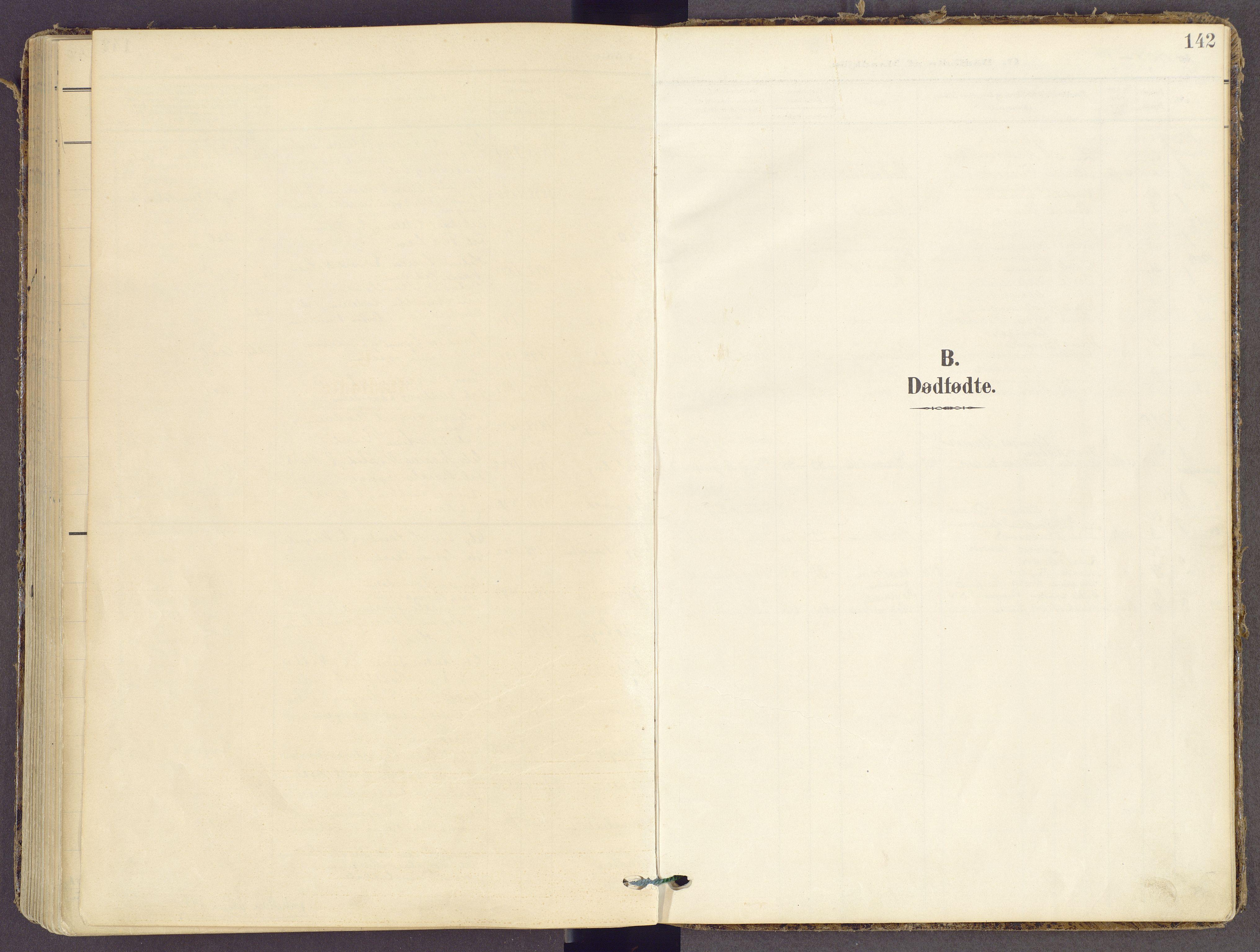 SAH, Gran prestekontor, Ministerialbok nr. 21, 1908-1932, s. 142