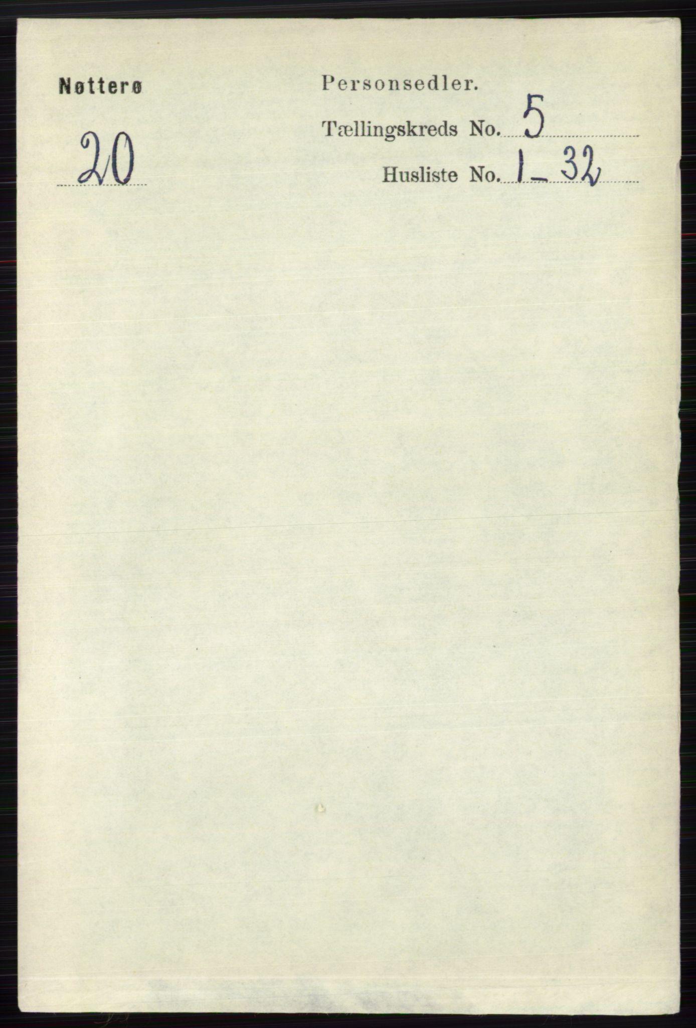 RA, Folketelling 1891 for 0722 Nøtterøy herred, 1891, s. 2548