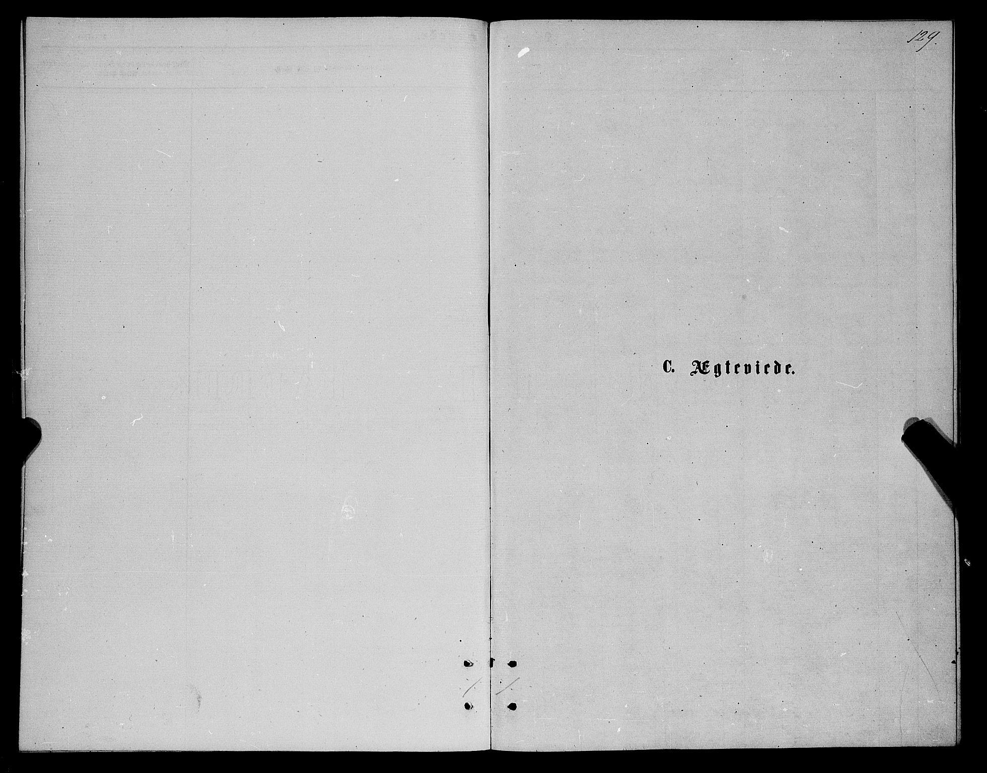 SATØ, Karlsøy sokneprestembete, Ministerialbok nr. 5, 1872-1878, s. 129
