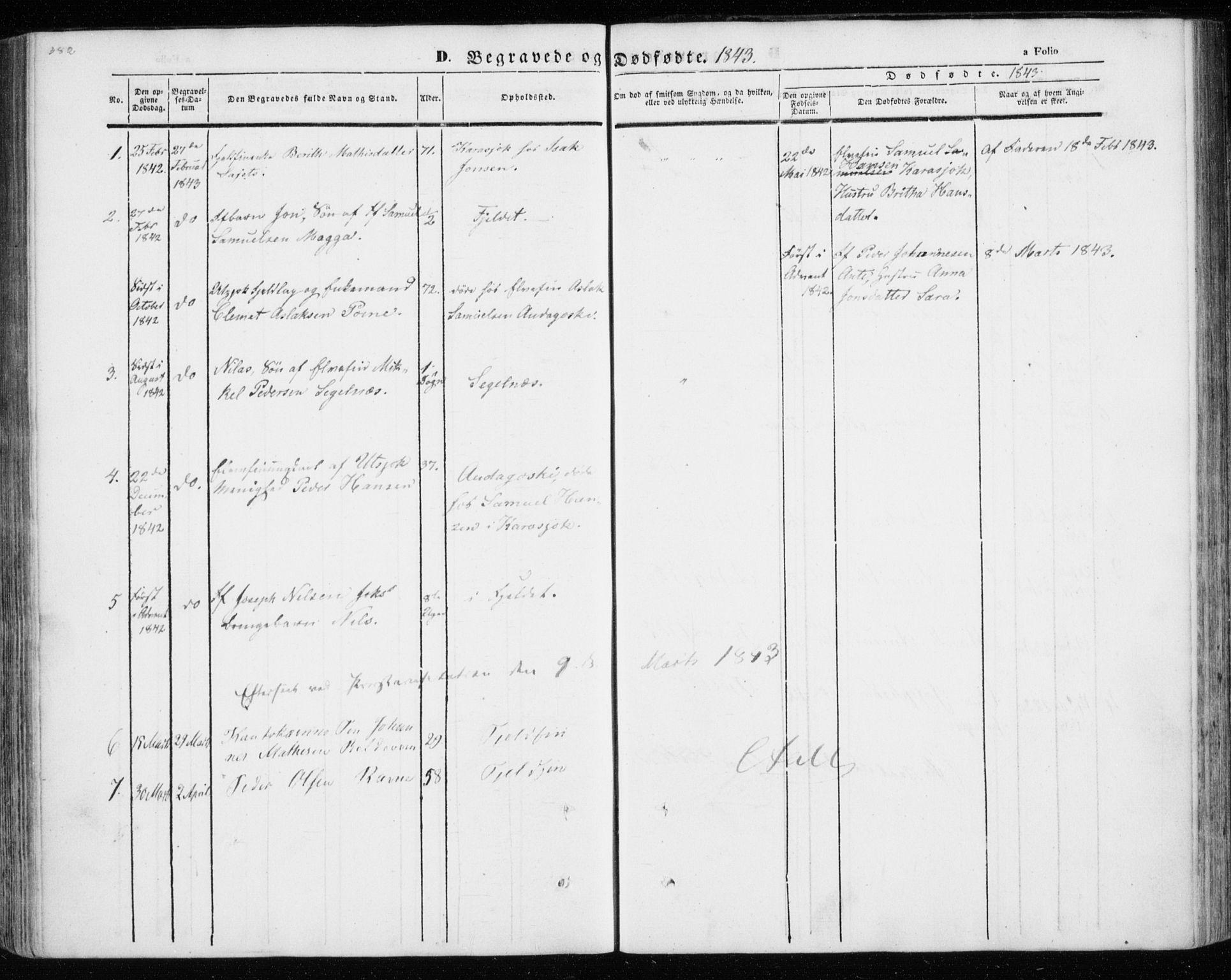 SATØ, Kistrand/Porsanger sokneprestembete, Ministerialbok nr. 12, 1843-1871, s. 382-383