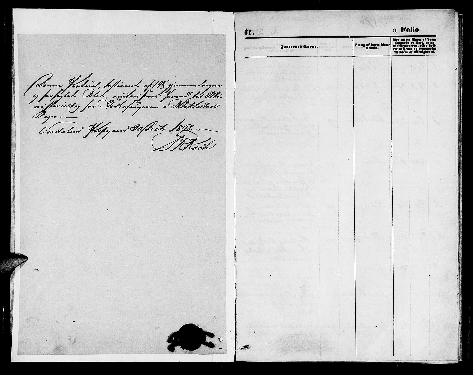 SAT, Ministerialprotokoller, klokkerbøker og fødselsregistre - Nord-Trøndelag, 723/L0255: Klokkerbok nr. 723C03, 1869-1879