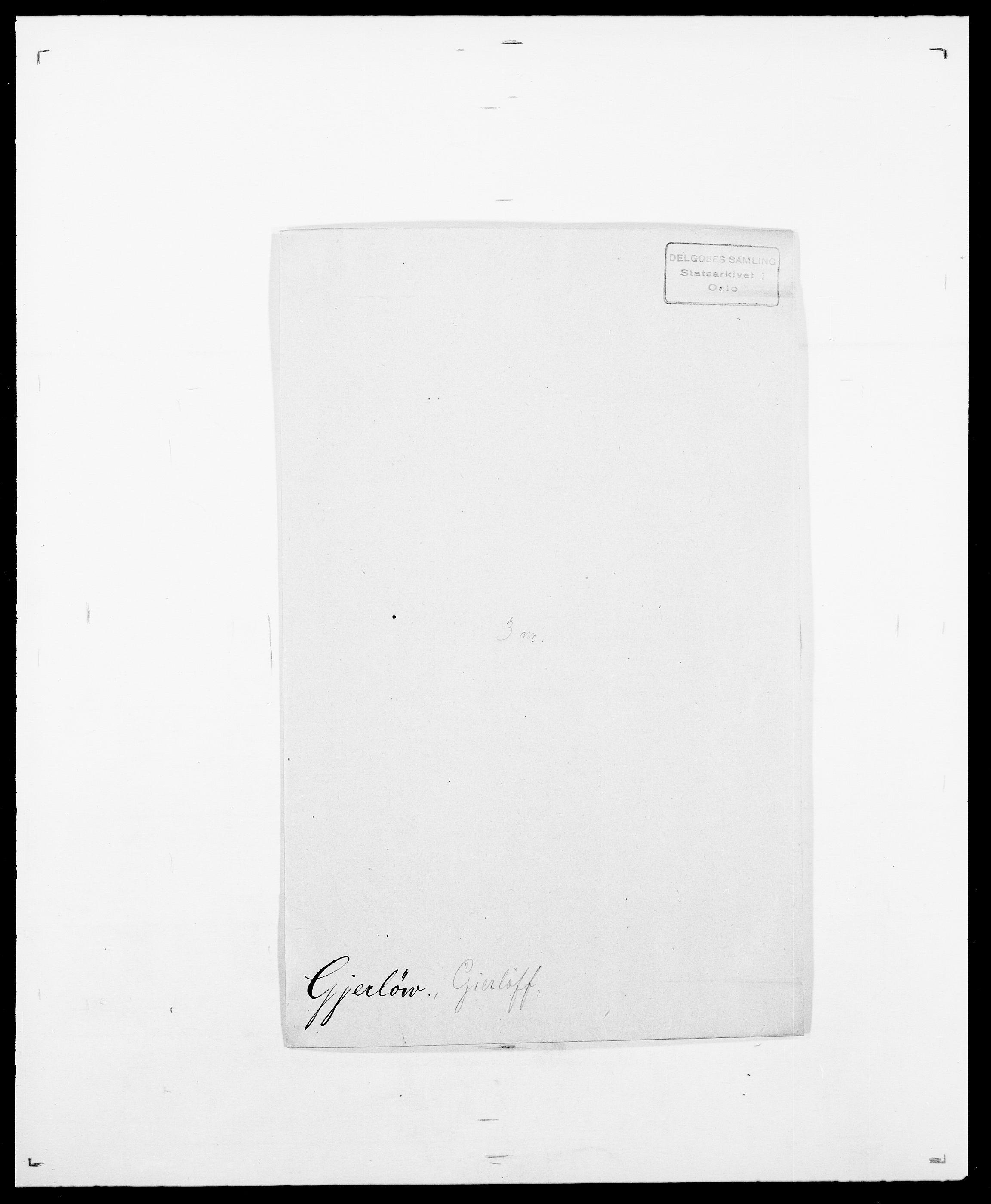 SAO, Delgobe, Charles Antoine - samling, D/Da/L0014: Giebdhausen - Grip, s. 138