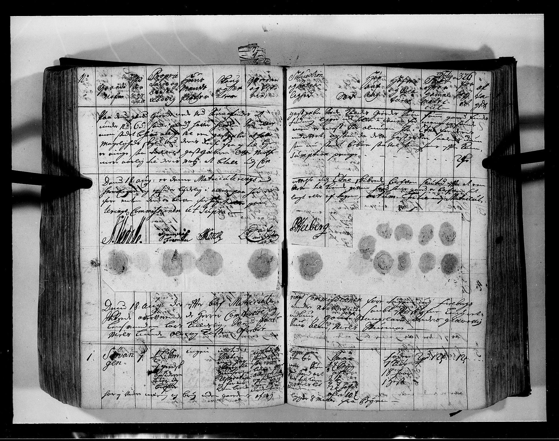 RA, Rentekammeret inntil 1814, Realistisk ordnet avdeling, N/Nb/Nbf/L0134: Sunnhordland eksaminasjonsprotokoll, 1723, s. 325b-326a