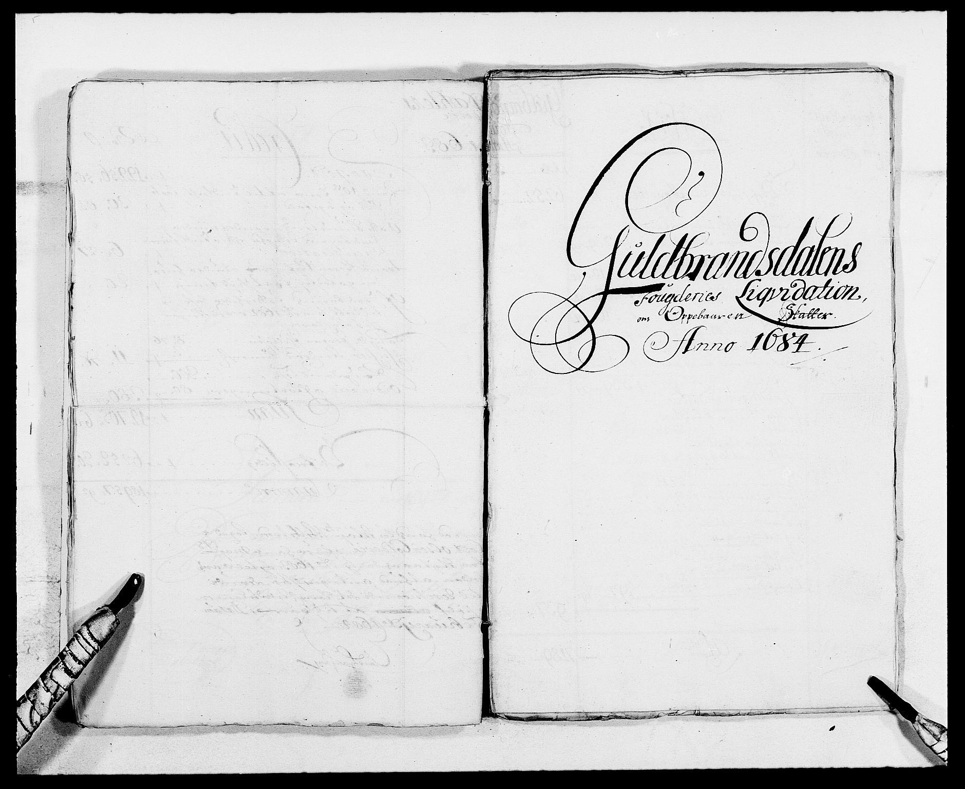 RA, Rentekammeret inntil 1814, Reviderte regnskaper, Fogderegnskap, R17/L1157: Fogderegnskap Gudbrandsdal, 1682-1689, s. 12