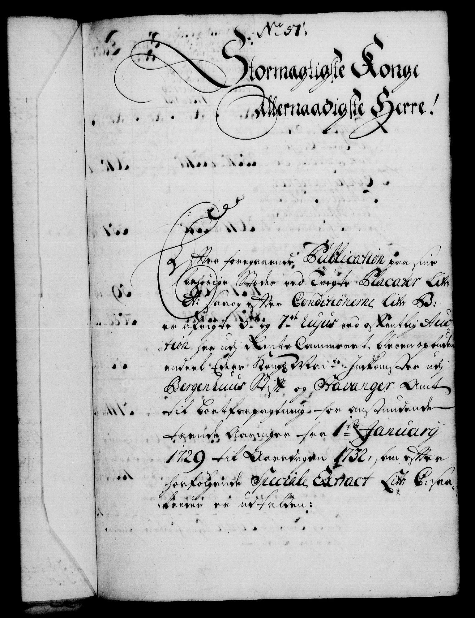 RA, Rentekammeret, Kammerkanselliet, G/Gf/Gfa/L0011: Norsk relasjons- og resolusjonsprotokoll (merket RK 52.11), 1728, s. 371