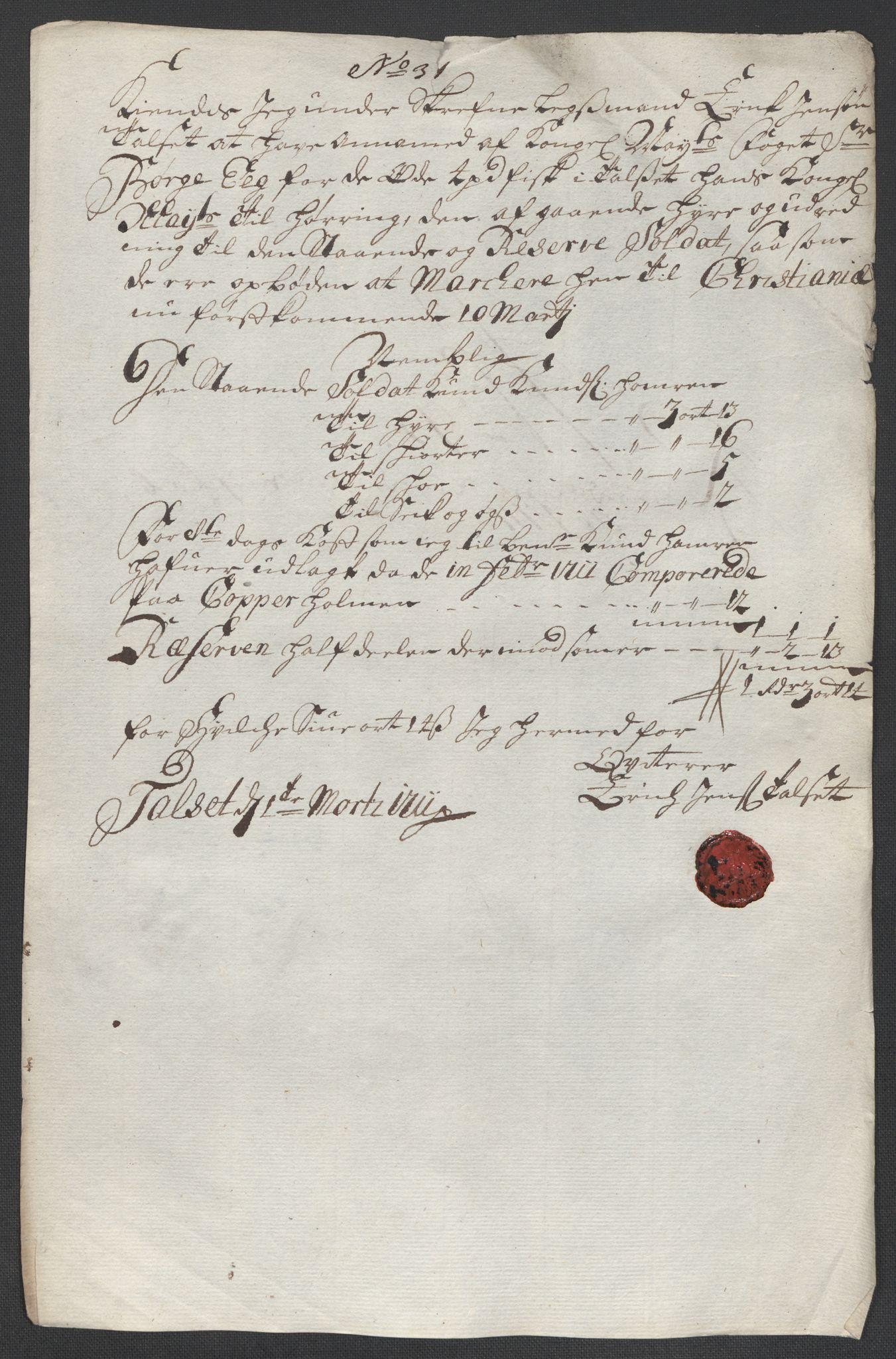 RA, Rentekammeret inntil 1814, Reviderte regnskaper, Fogderegnskap, R55/L3660: Fogderegnskap Romsdal, 1711, s. 437