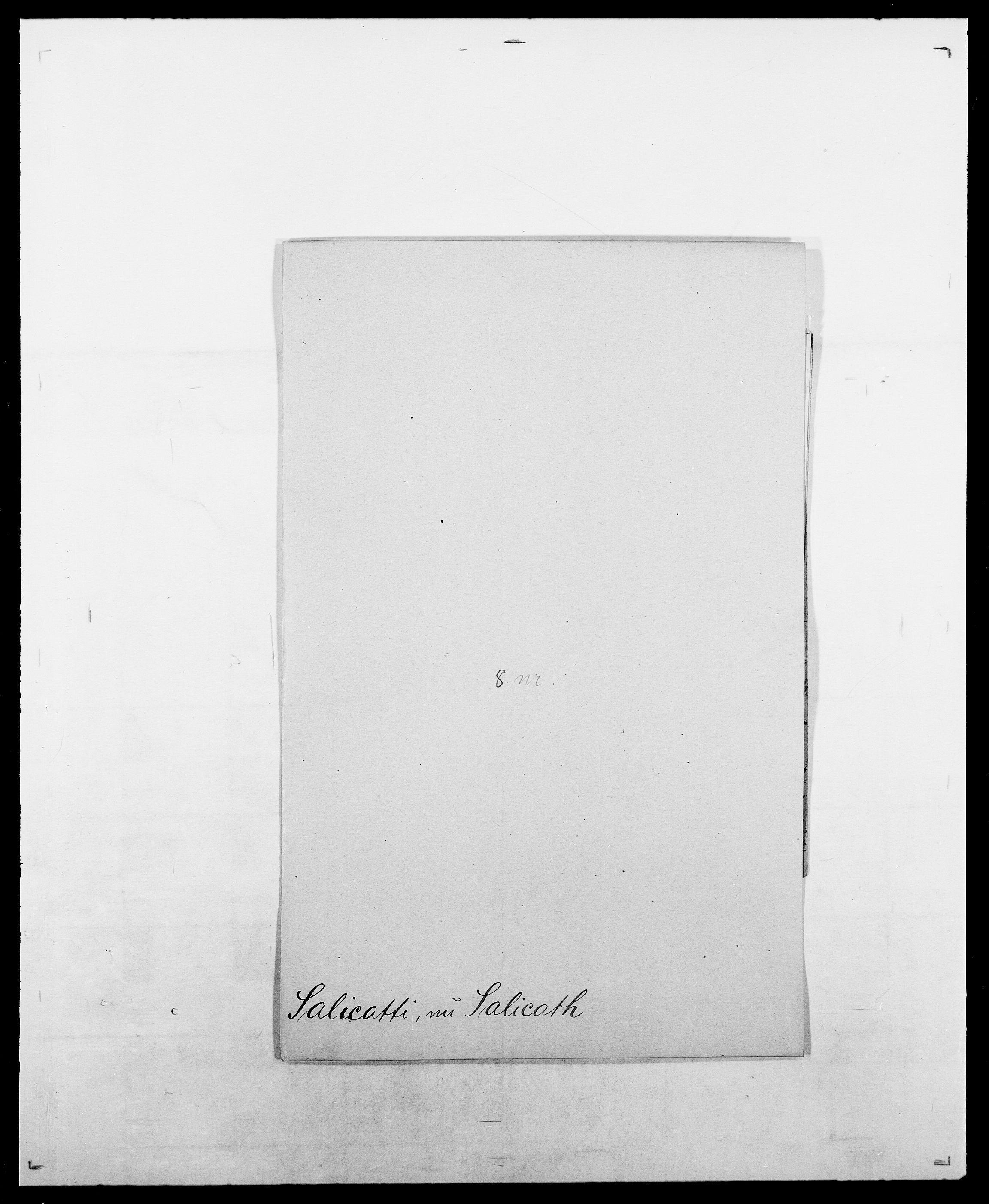 SAO, Delgobe, Charles Antoine - samling, D/Da/L0034: Saabye - Schmincke, s. 54