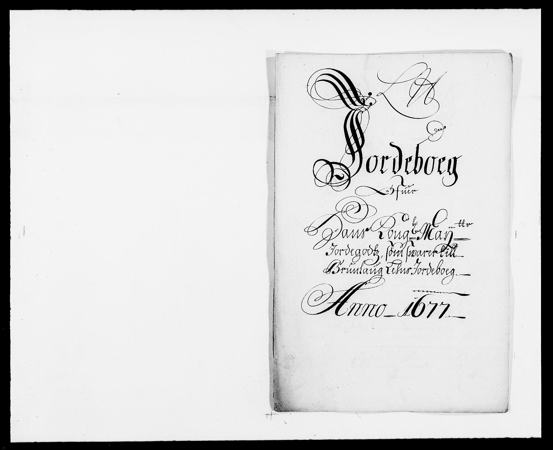 RA, Rentekammeret inntil 1814, Reviderte regnskaper, Fogderegnskap, R33/L1968: Fogderegnskap Larvik grevskap, 1675-1687, s. 1