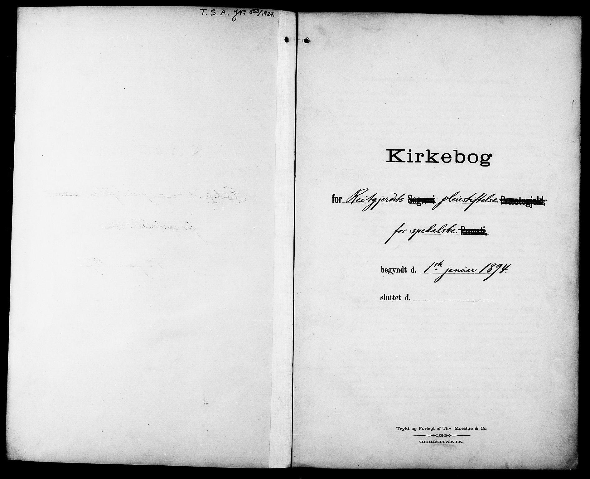 SAT, Ministerialprotokoller, klokkerbøker og fødselsregistre - Sør-Trøndelag, 629/L0486: Ministerialbok nr. 629A02, 1894-1919
