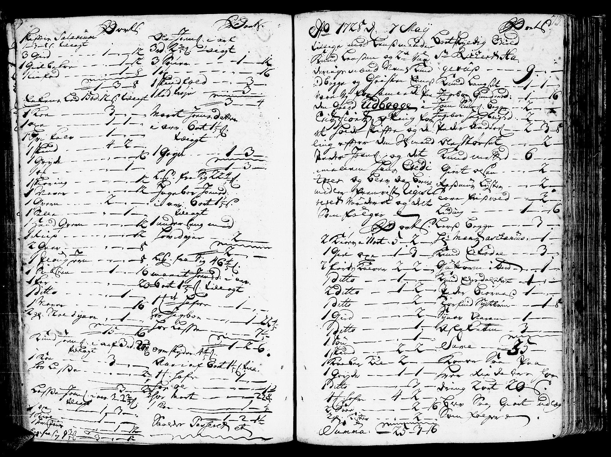 SAT, Romsdal sorenskriveri, 3/3A/L0006: Skifteprotokoll, 1718-1730, s. 512b-513a