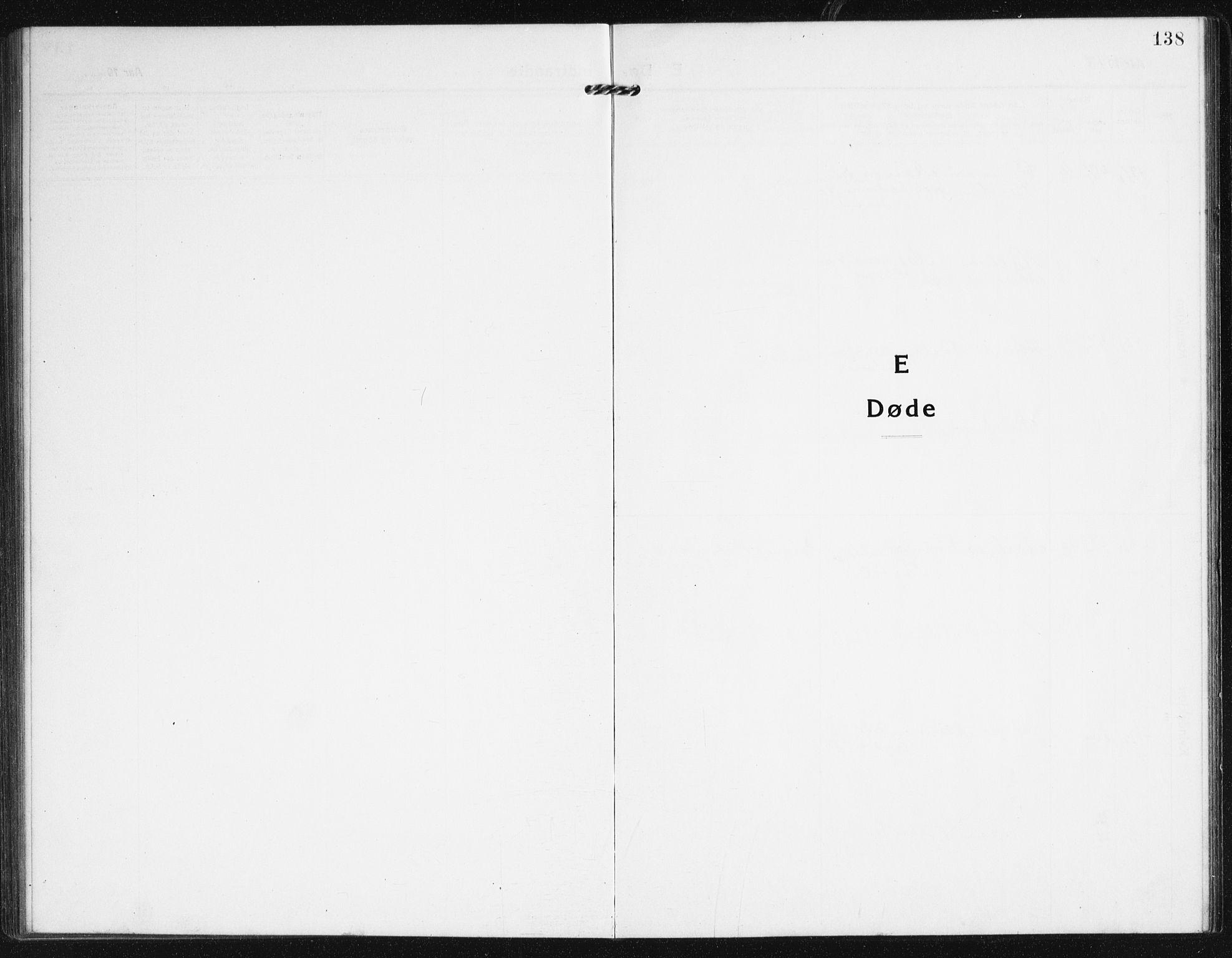 SAK, Valle sokneprestkontor, F/Fb/Fba/L0004: Klokkerbok nr. B 4, 1917-1944, s. 138