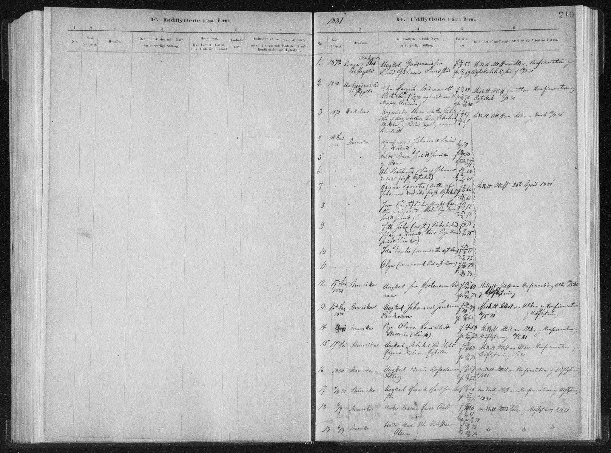SAT, Ministerialprotokoller, klokkerbøker og fødselsregistre - Nord-Trøndelag, 722/L0220: Ministerialbok nr. 722A07, 1881-1908, s. 210