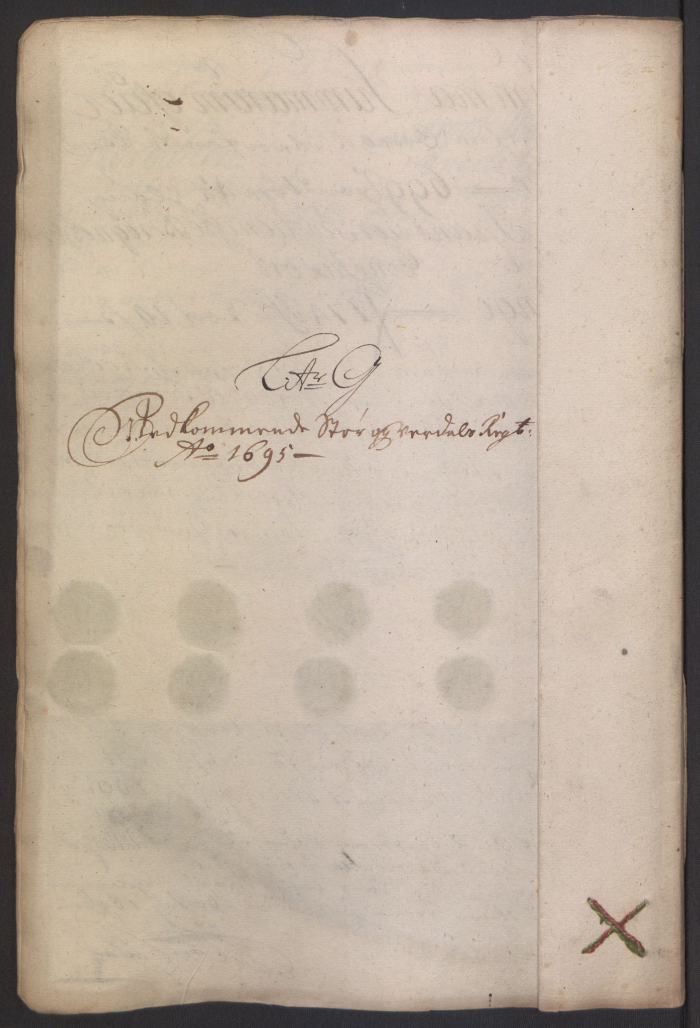 RA, Rentekammeret inntil 1814, Reviderte regnskaper, Fogderegnskap, R62/L4187: Fogderegnskap Stjørdal og Verdal, 1695, s. 119