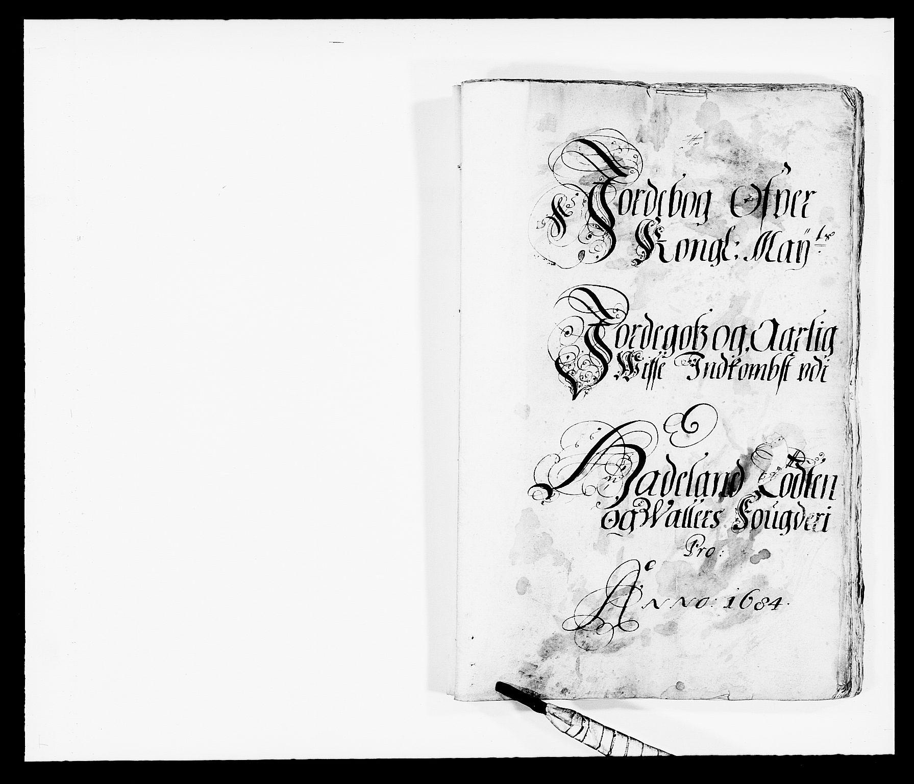RA, Rentekammeret inntil 1814, Reviderte regnskaper, Fogderegnskap, R18/L1283: Fogderegnskap Hadeland, Toten og Valdres, 1684, s. 20