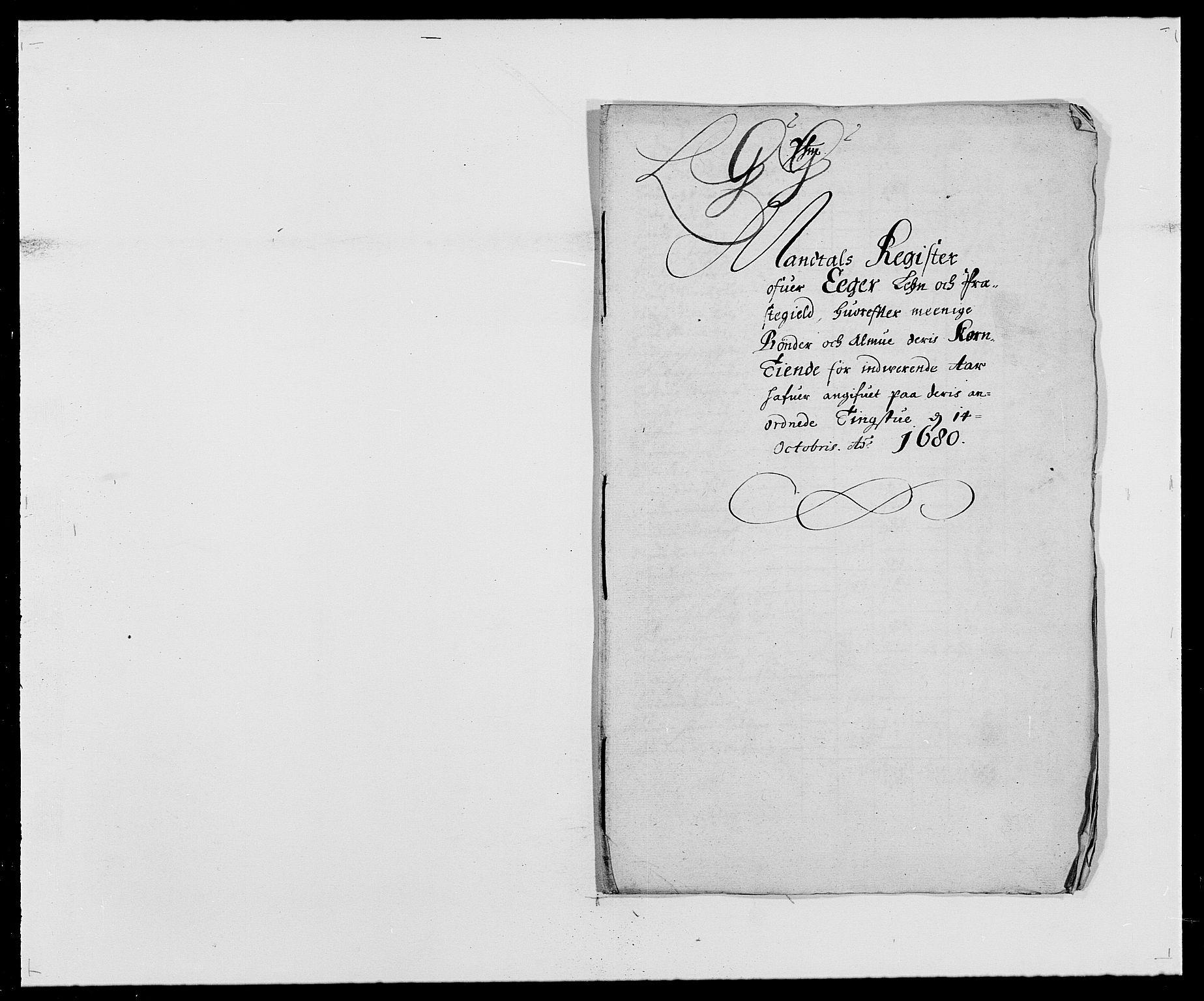 RA, Rentekammeret inntil 1814, Reviderte regnskaper, Fogderegnskap, R26/L1684: Fogderegnskap Eiker, 1679-1686, s. 105