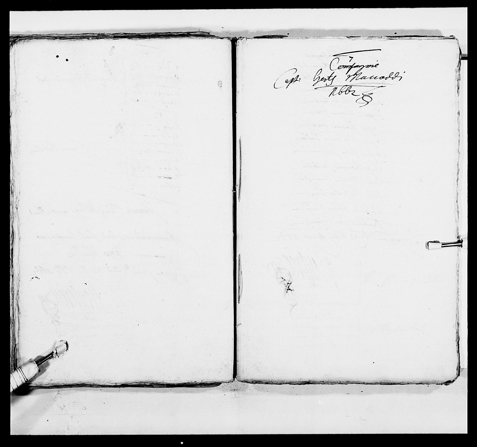 RA, Kommanderende general (KG I) med Det norske krigsdirektorium, E/Ea/L0498: Opplandske regiment, 1662-1689, s. 99