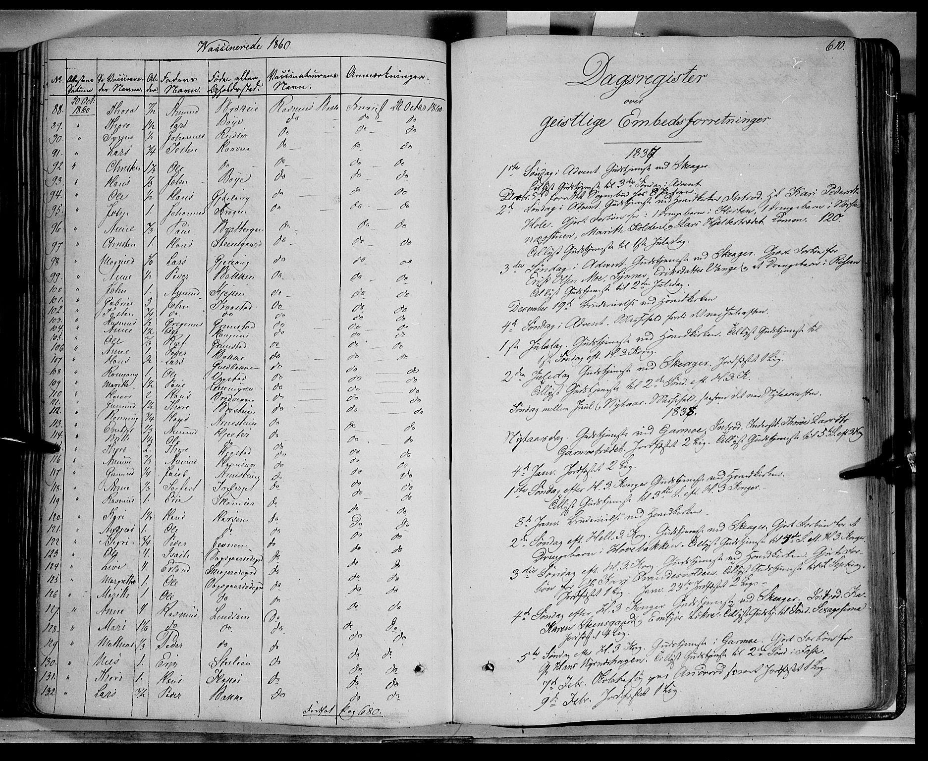 SAH, Lom prestekontor, K/L0006: Ministerialbok nr. 6B, 1837-1863, s. 610