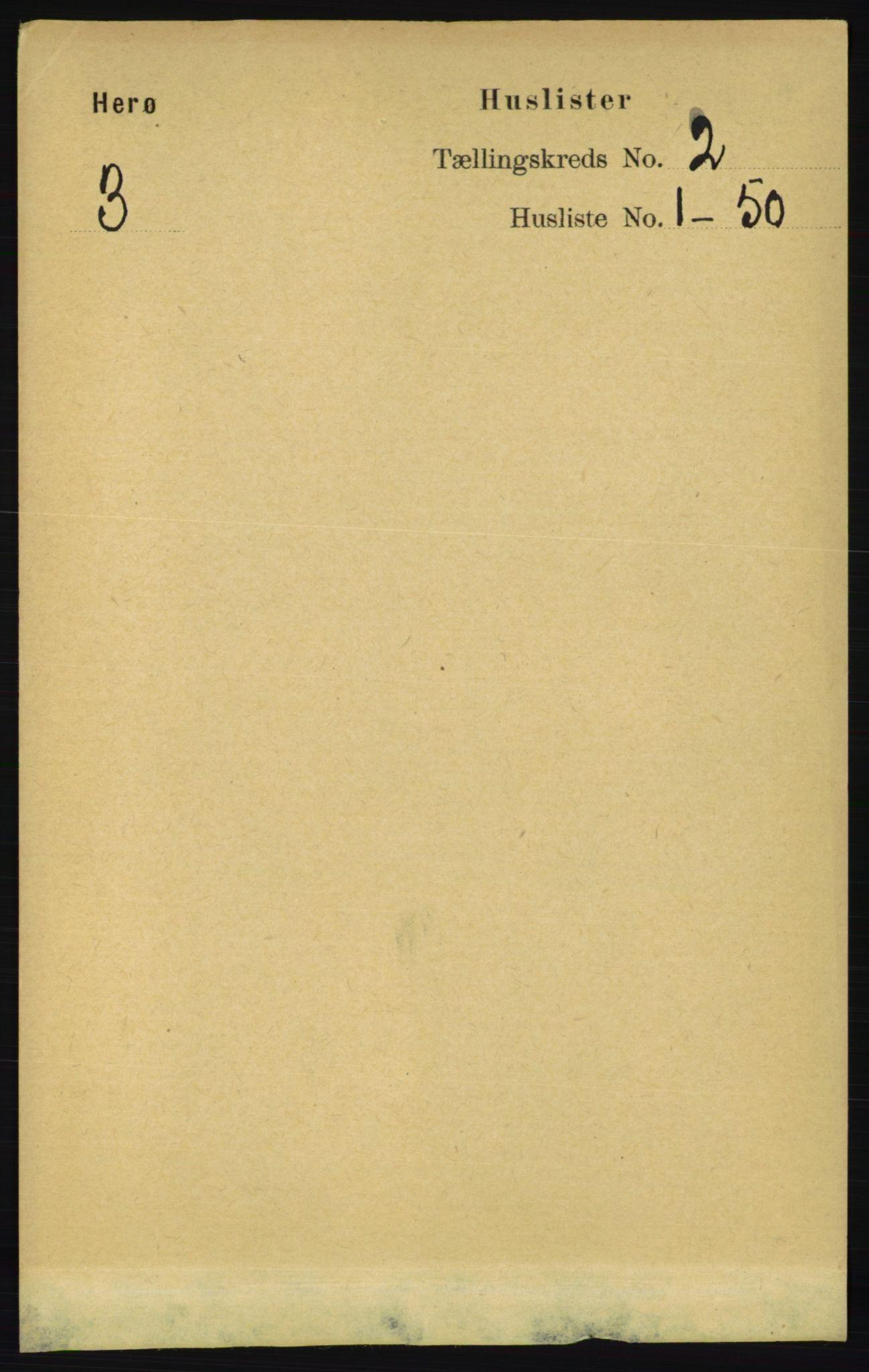 RA, Folketelling 1891 for 1818 Herøy herred, 1891, s. 198