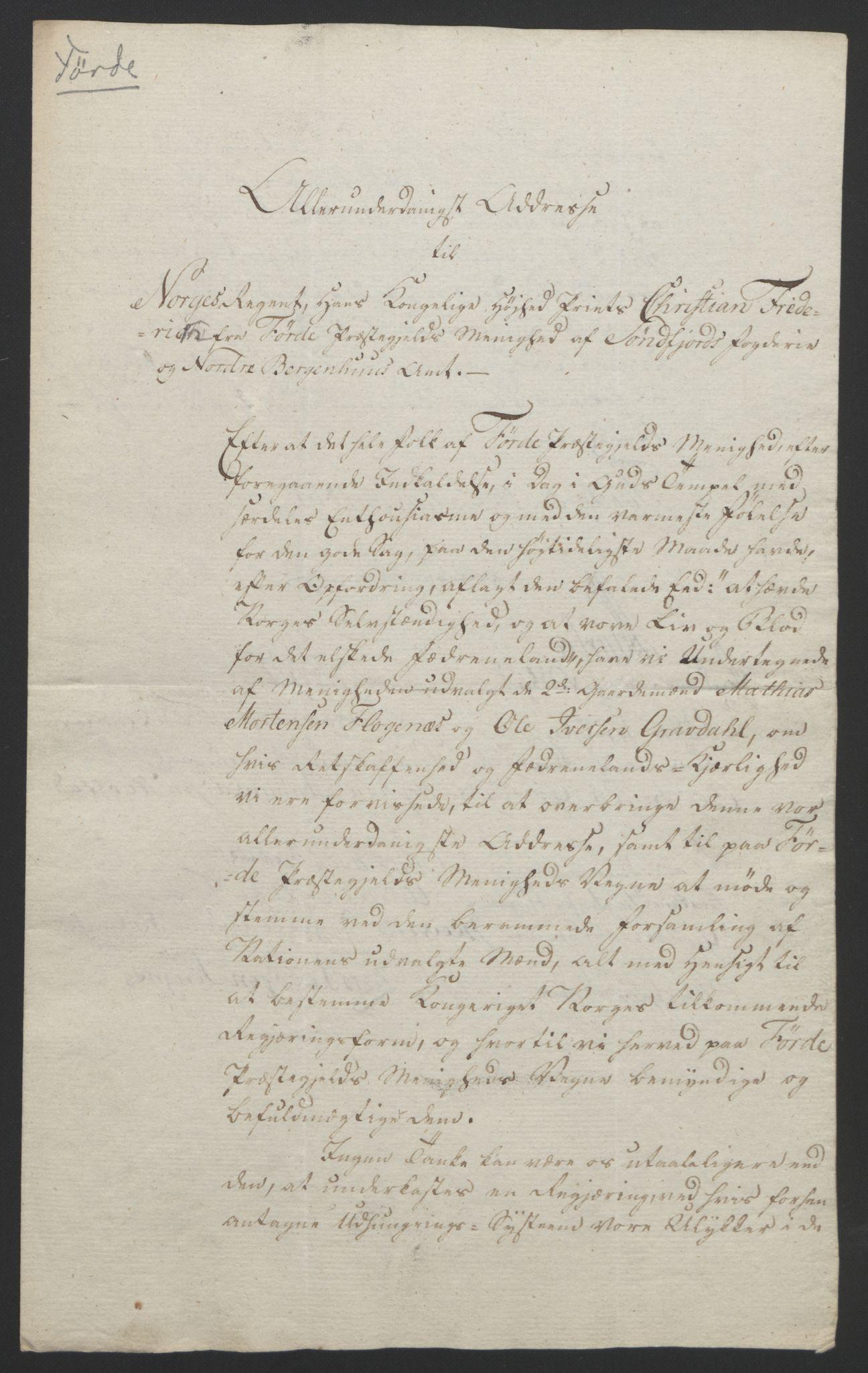 RA, Statsrådssekretariatet, D/Db/L0008: Fullmakter for Eidsvollsrepresentantene i 1814. , 1814, s. 321