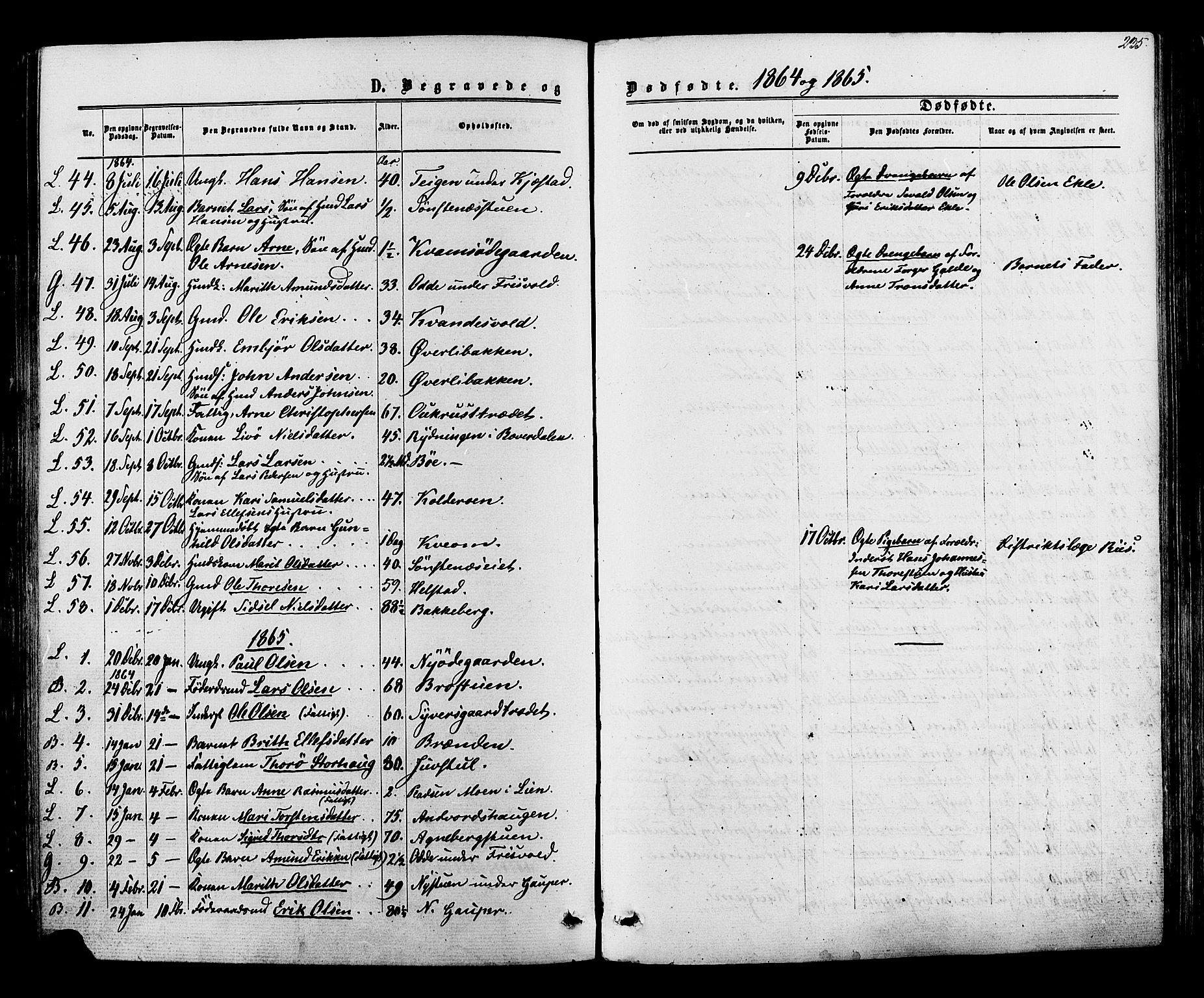 SAH, Lom prestekontor, K/L0007: Ministerialbok nr. 7, 1863-1884, s. 235