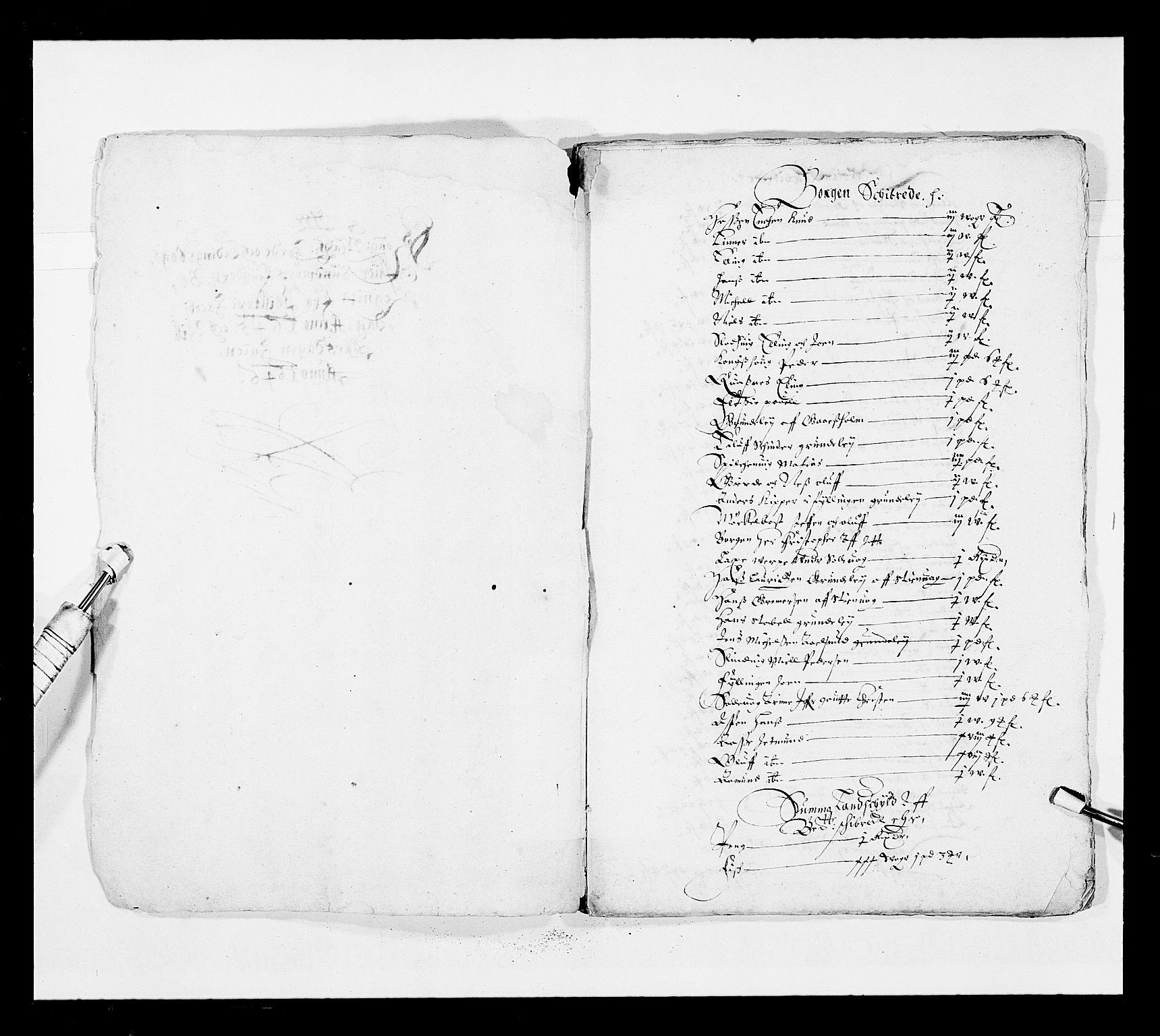 RA, Stattholderembetet 1572-1771, Ek/L0025: Jordebøker 1633-1658:, 1645-1646, s. 237