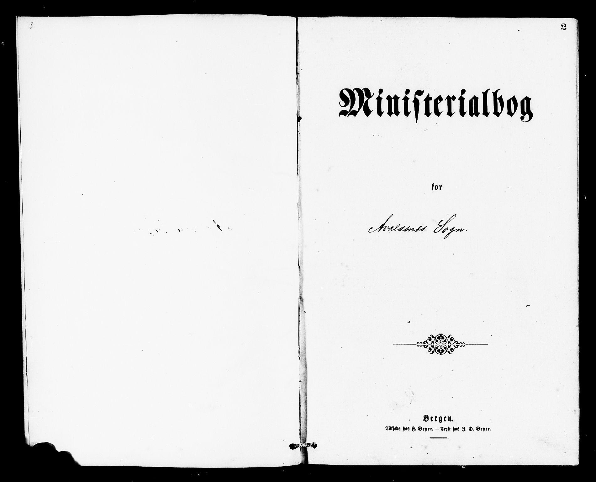 SAST, Avaldsnes sokneprestkontor, H/Ha/Haa/L0013: Ministerialbok nr. A 13, 1876-1879, s. 2