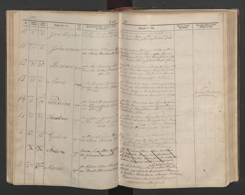 SAT, Ministerialprotokoller, klokkerbøker og fødselsregistre - Møre og Romsdal, 554/L0645: Klokkerbok nr. 554C02, 1867-1946, s. 63