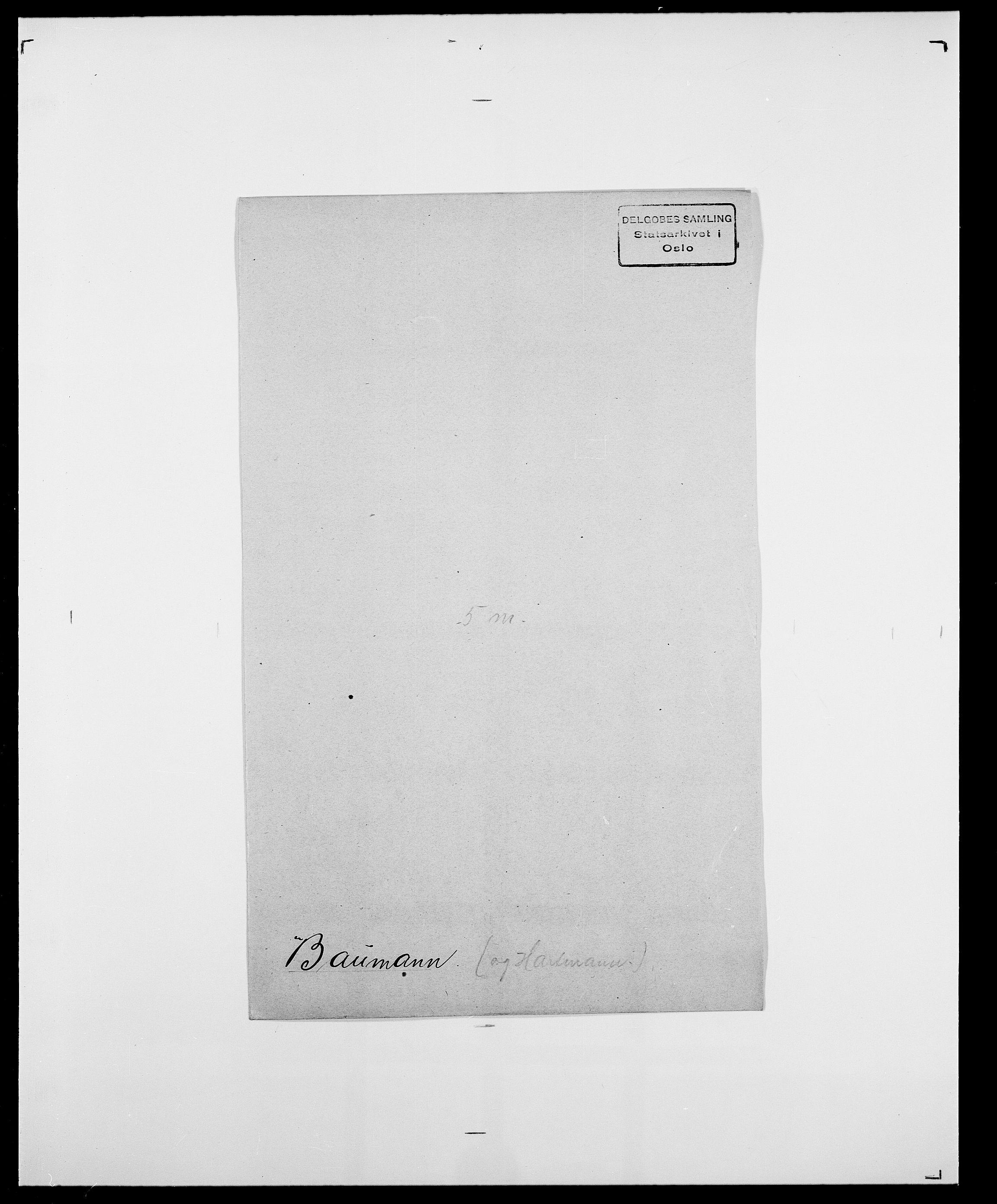 SAO, Delgobe, Charles Antoine - samling, D/Da/L0003: Barca - Bergen, s. 445