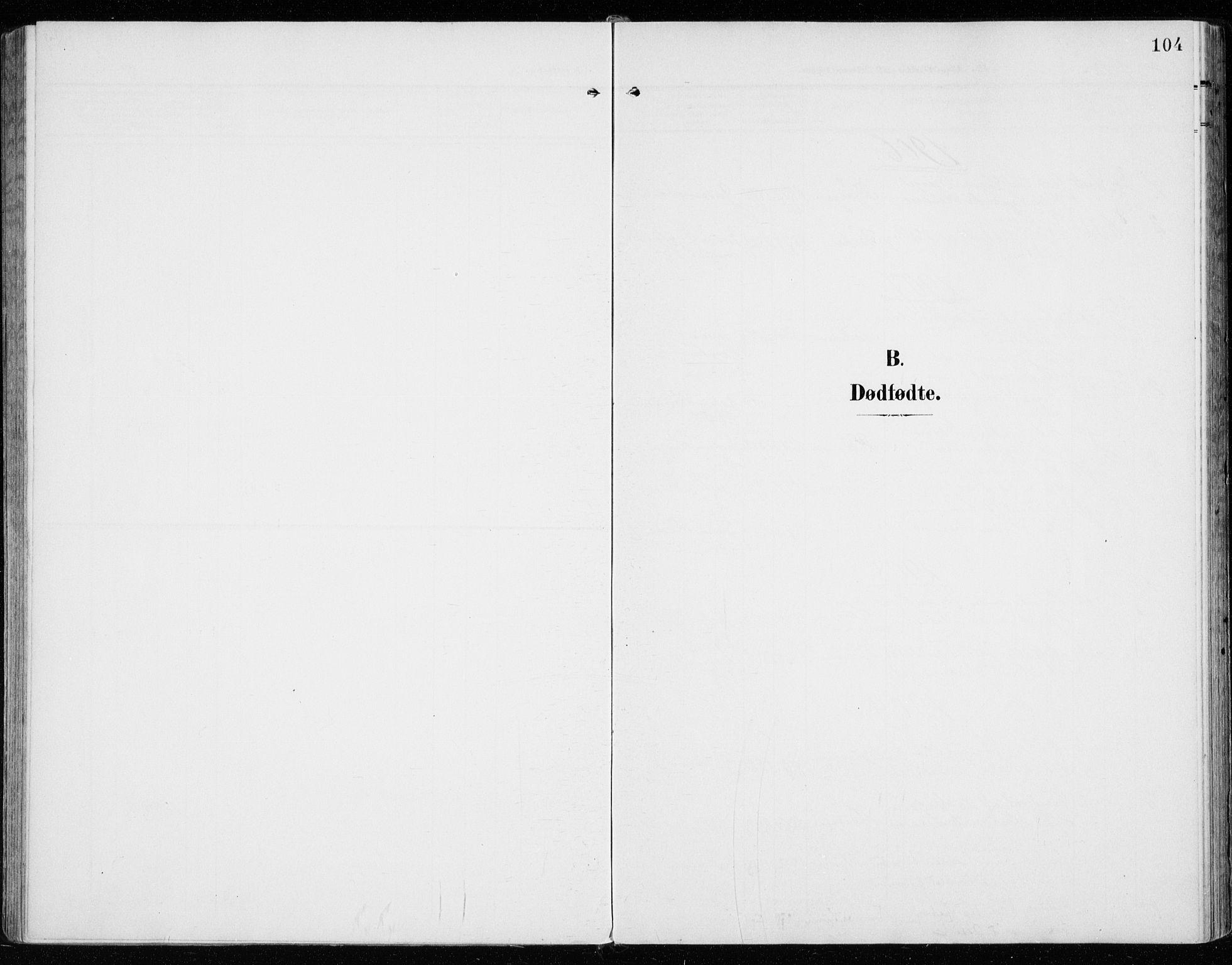 SAH, Vardal prestekontor, H/Ha/Haa/L0016: Ministerialbok nr. 16, 1904-1916, s. 104