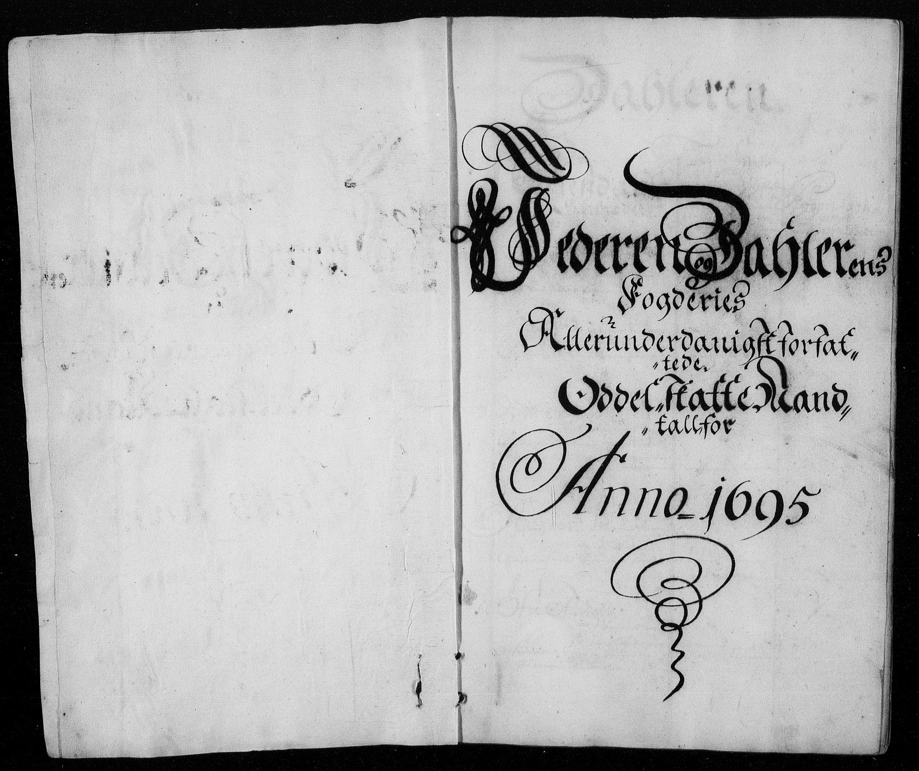 RA, Rentekammeret inntil 1814, Reviderte regnskaper, Fogderegnskap, R46/L2728: Fogderegnskap Jæren og Dalane, 1694-1696, s. 288