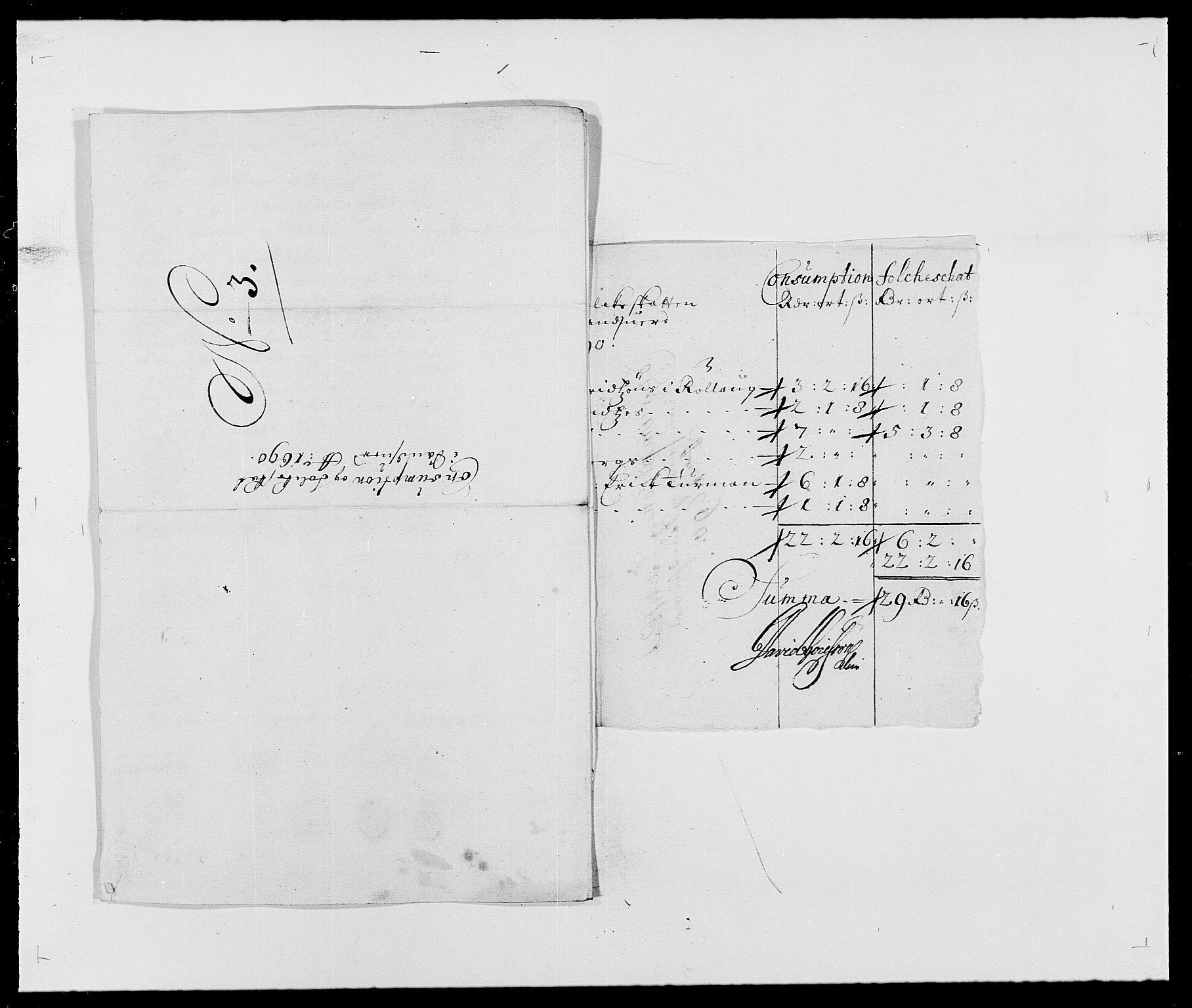 RA, Rentekammeret inntil 1814, Reviderte regnskaper, Fogderegnskap, R24/L1573: Fogderegnskap Numedal og Sandsvær, 1687-1691, s. 459